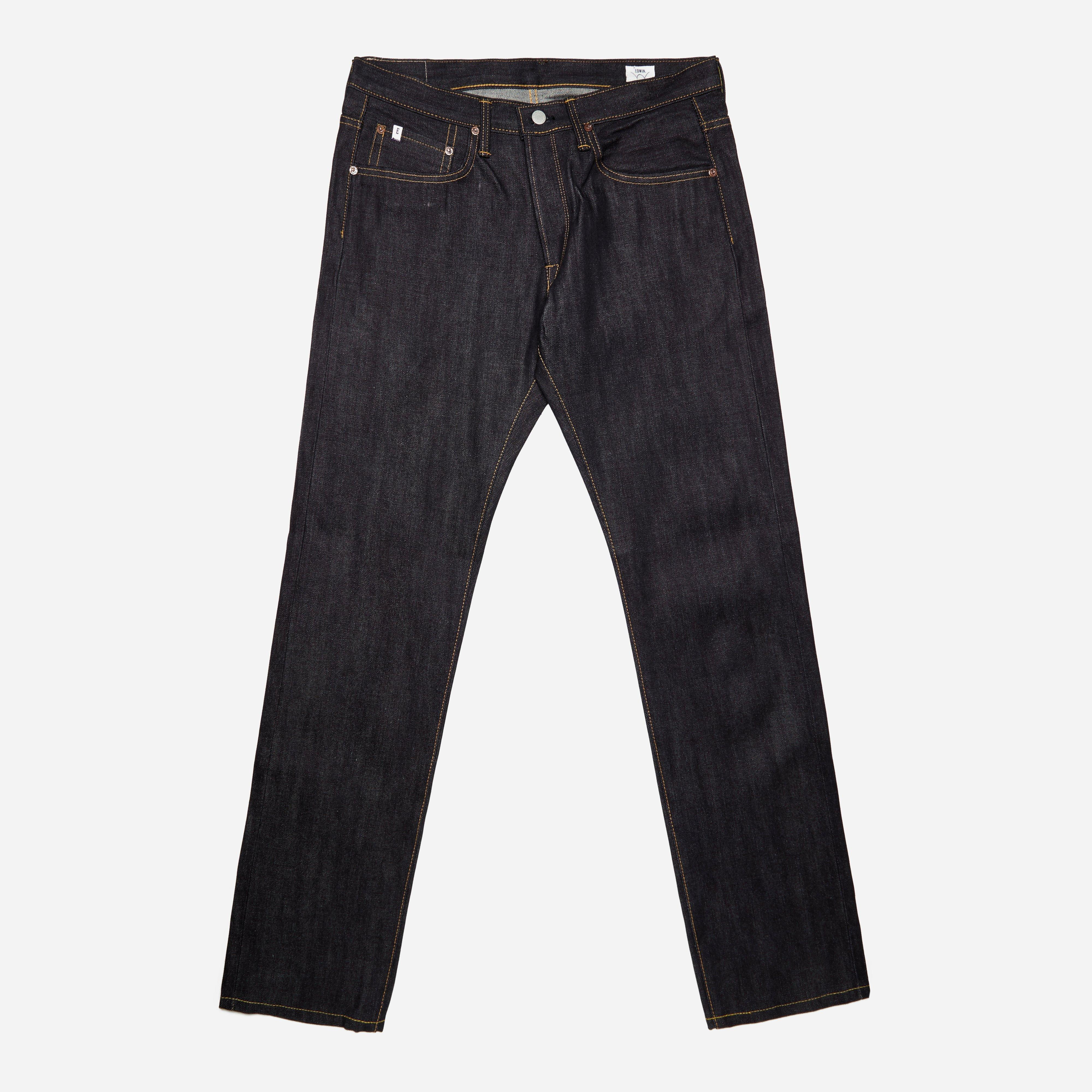 Edwin ED-55 Relaxed Tapered Nihon Menph Japan Selvage
