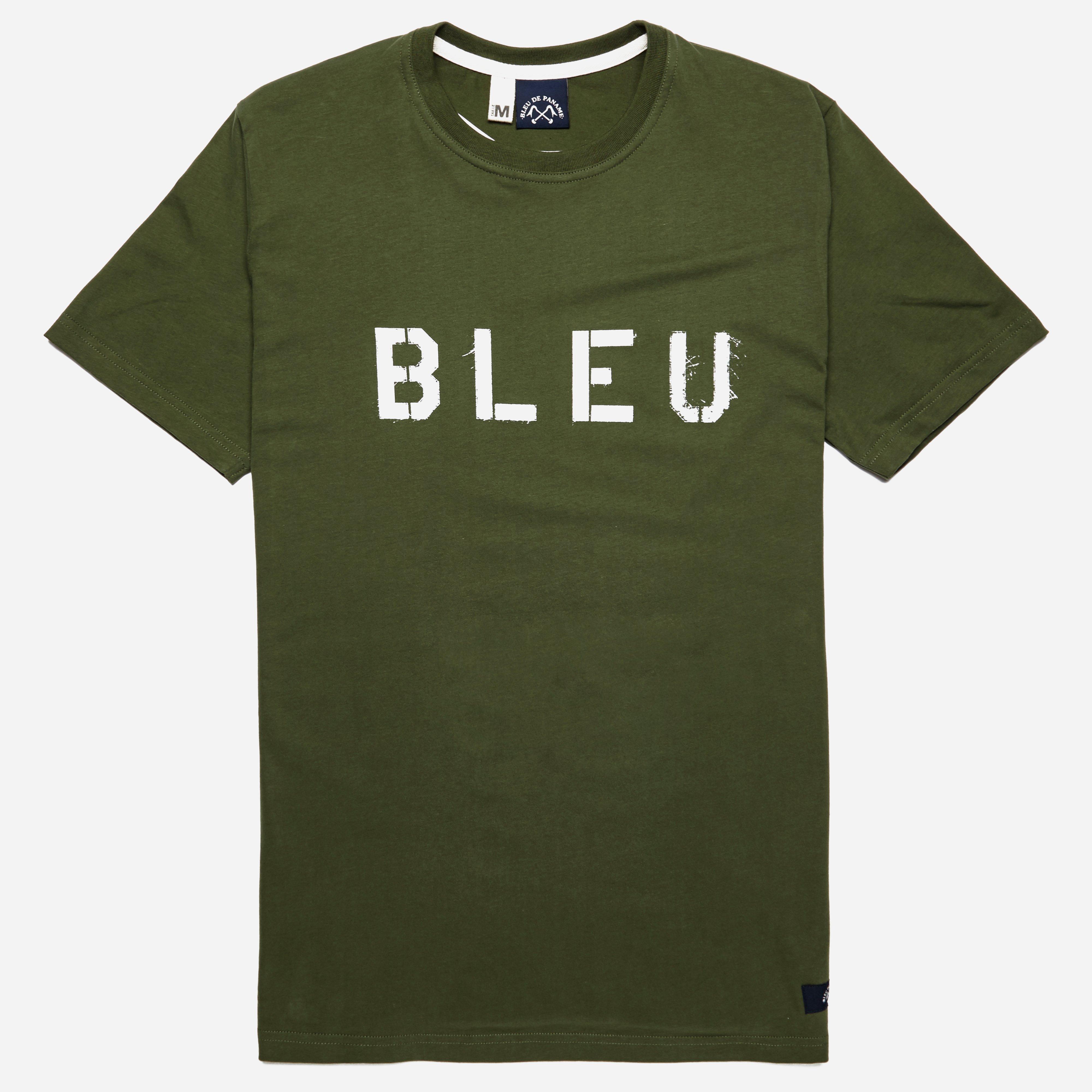 Bleu De Paname Logo T-shirt