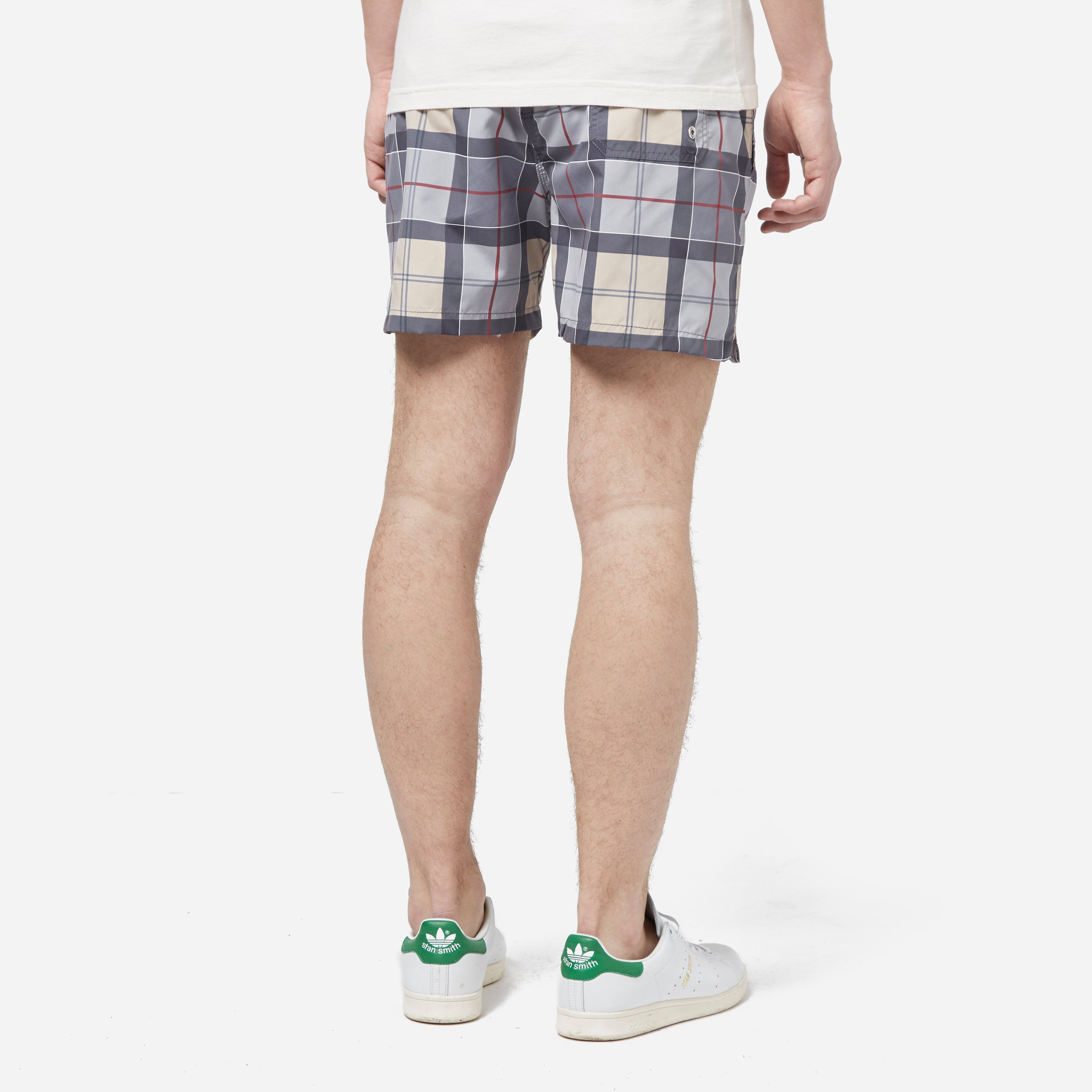 Barbour Tartan Lomond Swim Shorts