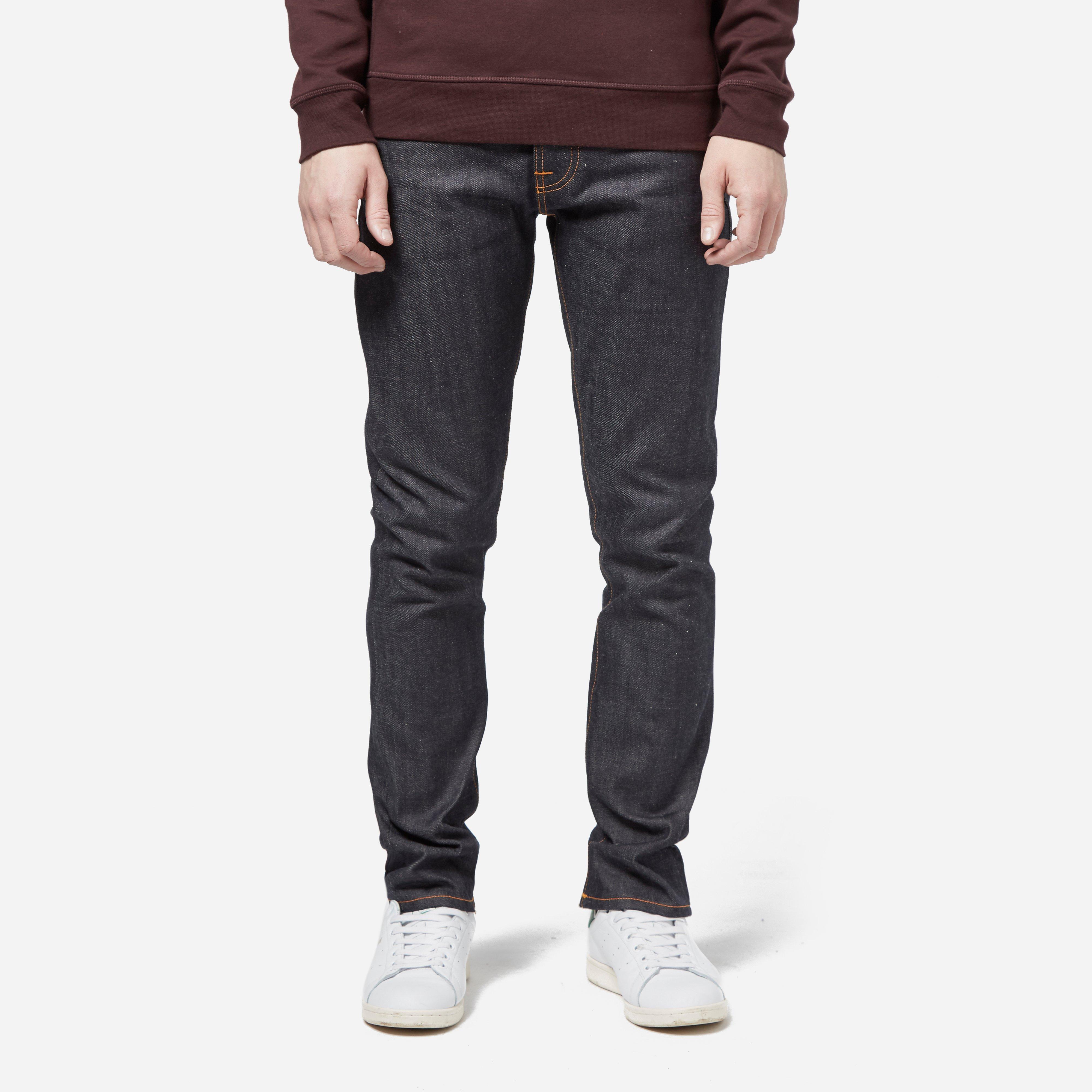 Nudie Jeans Grim Tim - Dry Selvage Jean