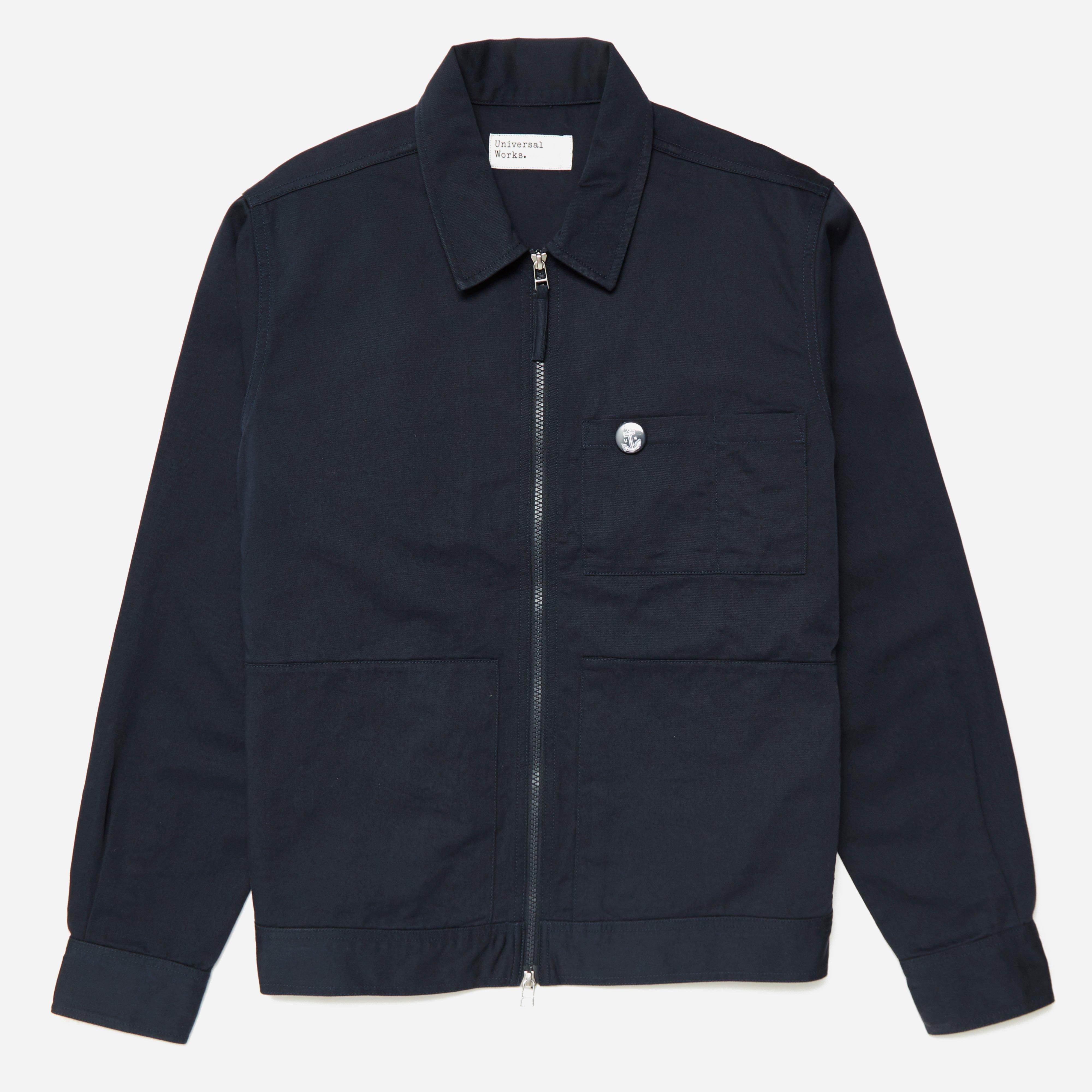 Universal Works Twill Zip Unifrom Shirt