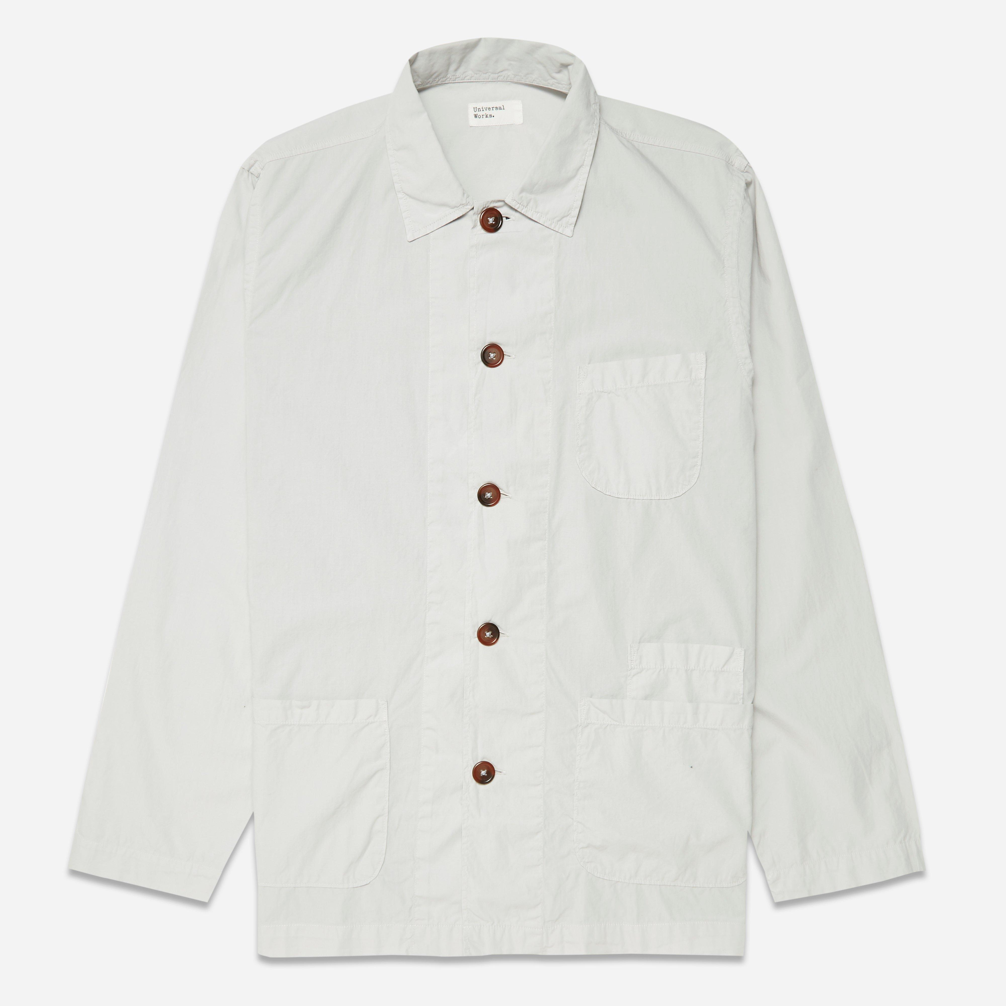 Universal Works Poplin Bakers Overshirt