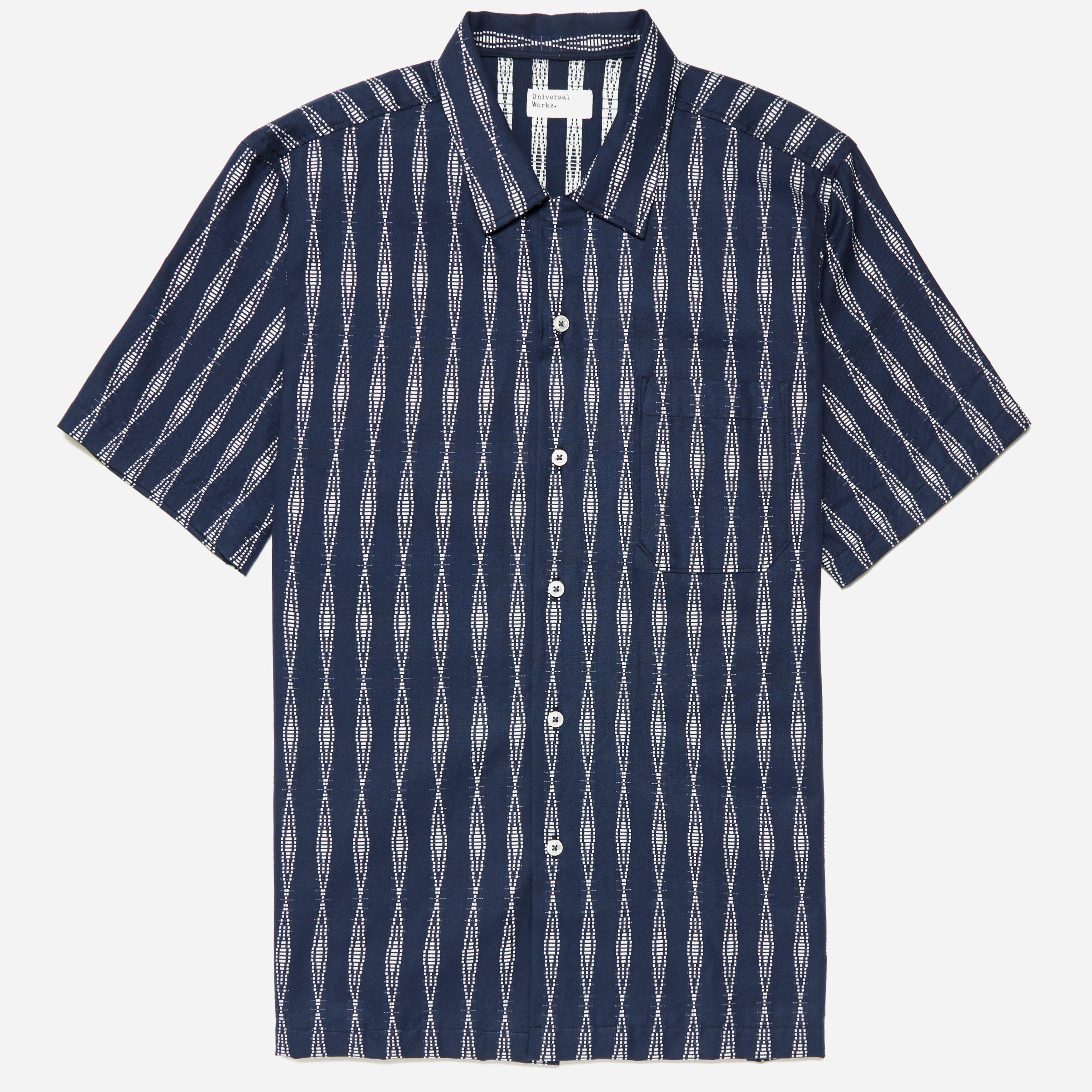 Universal Works Congo Stripe Road Shirt