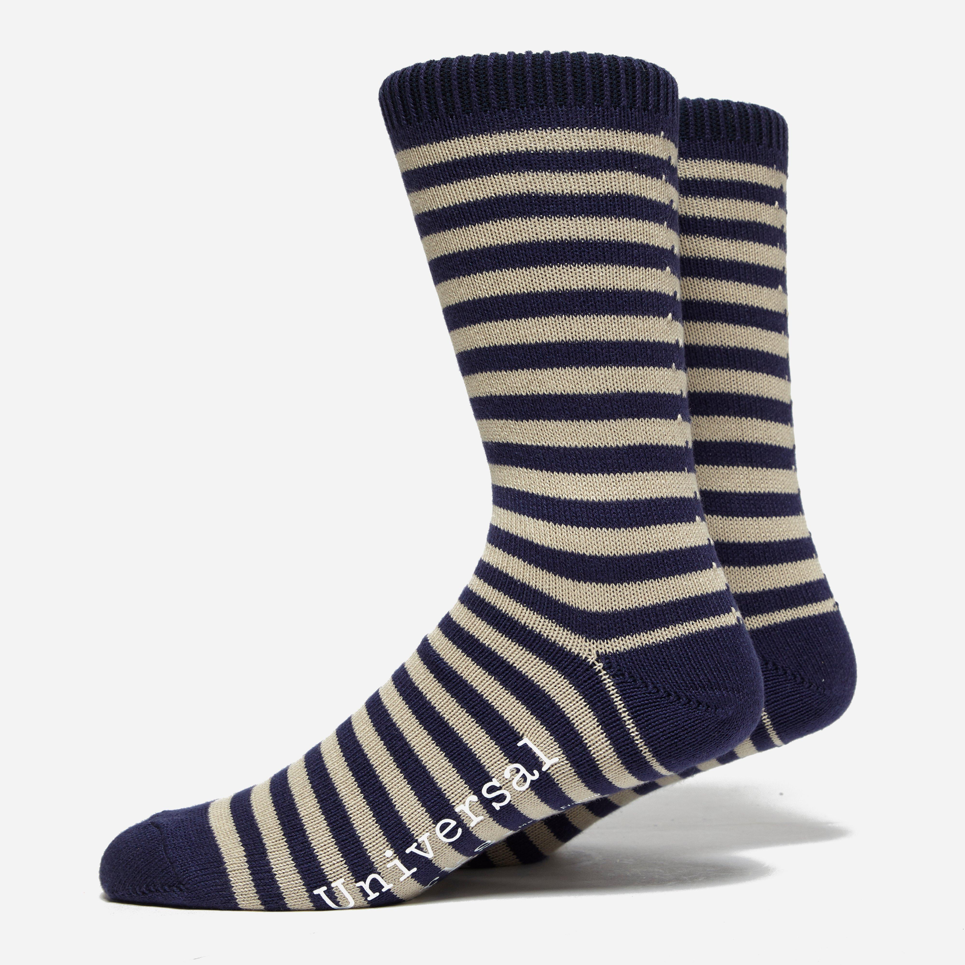 Universal Works Stripe Sock