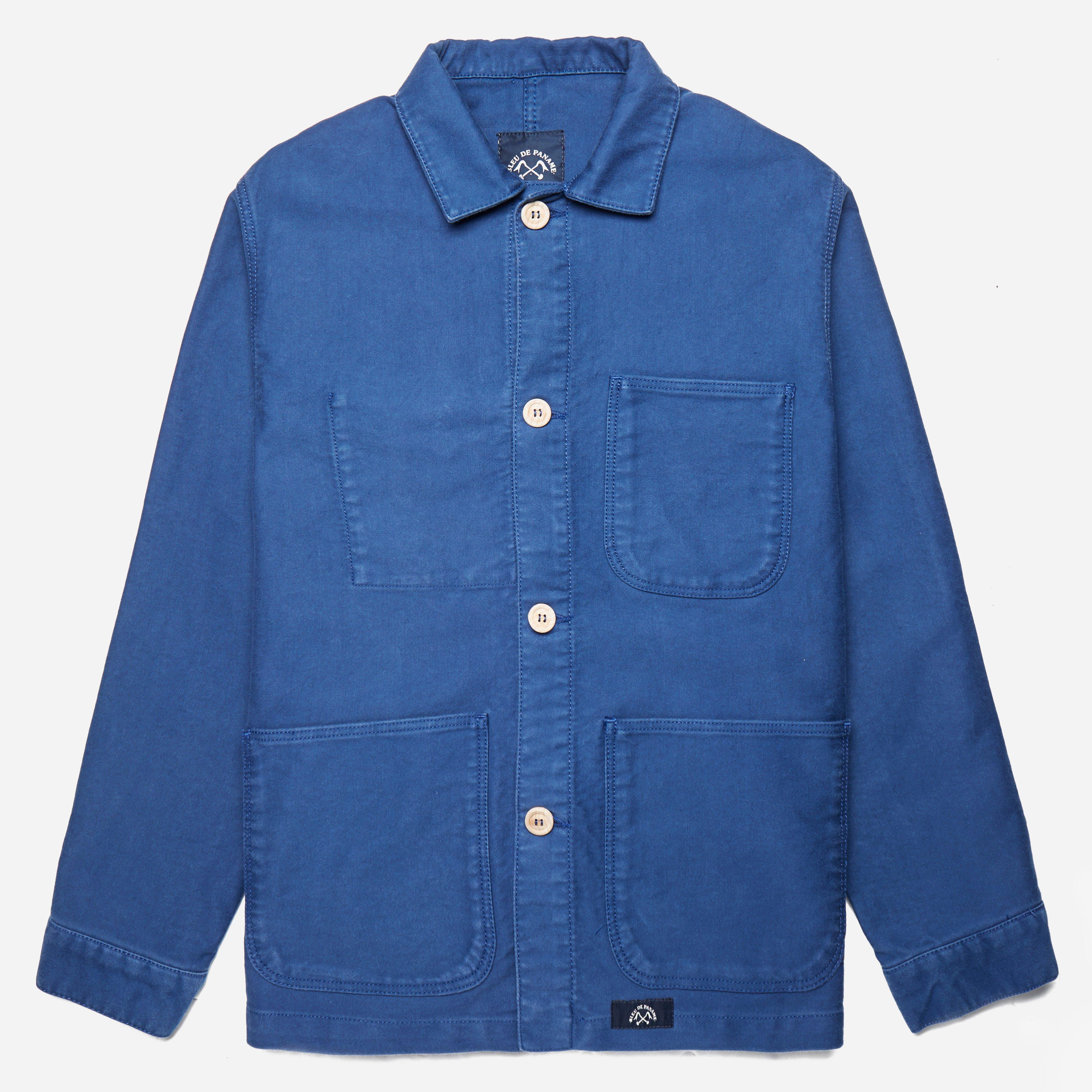 Bleu De Paname Veste De Comptoir