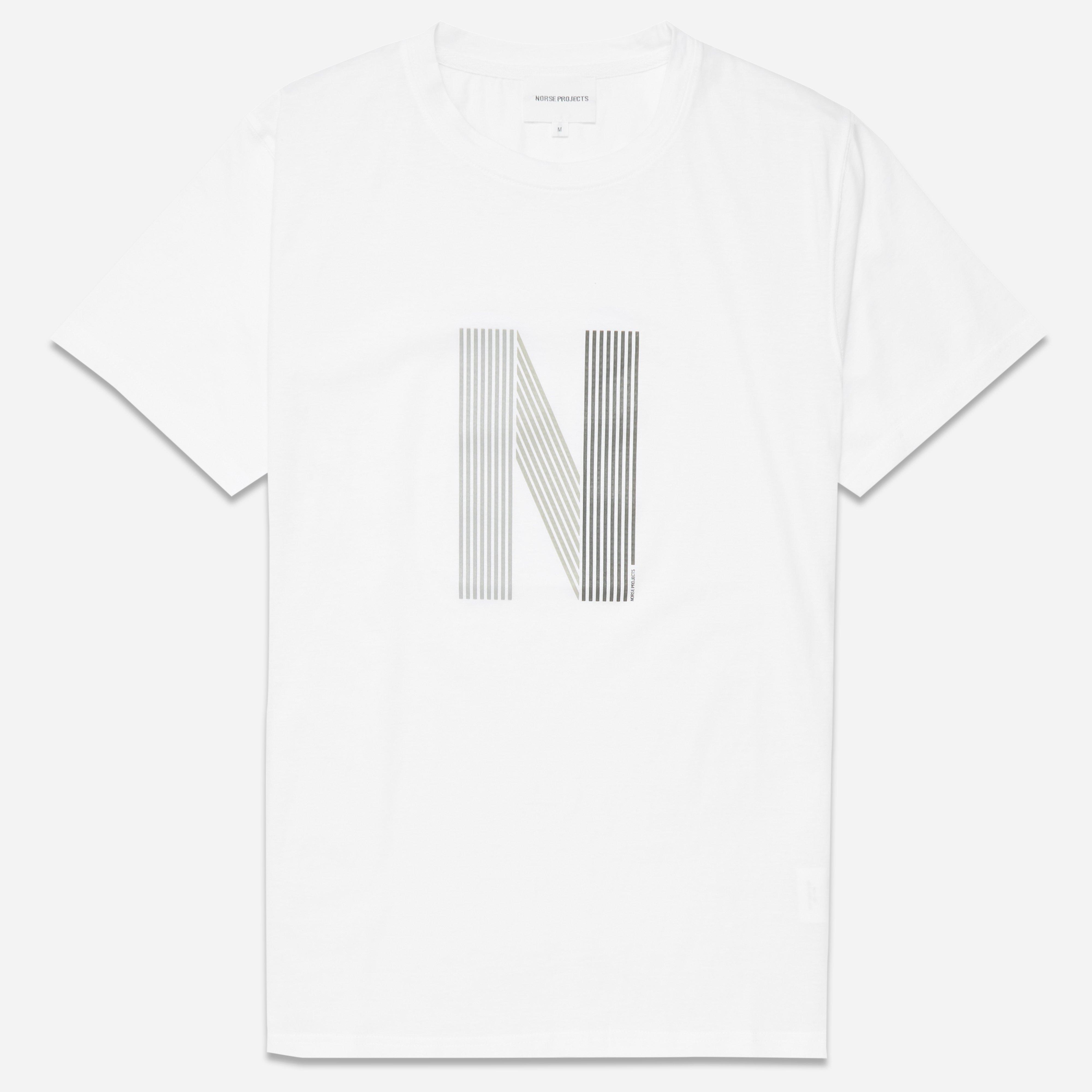 Norse Projects Niels Layer Logo T-shirt