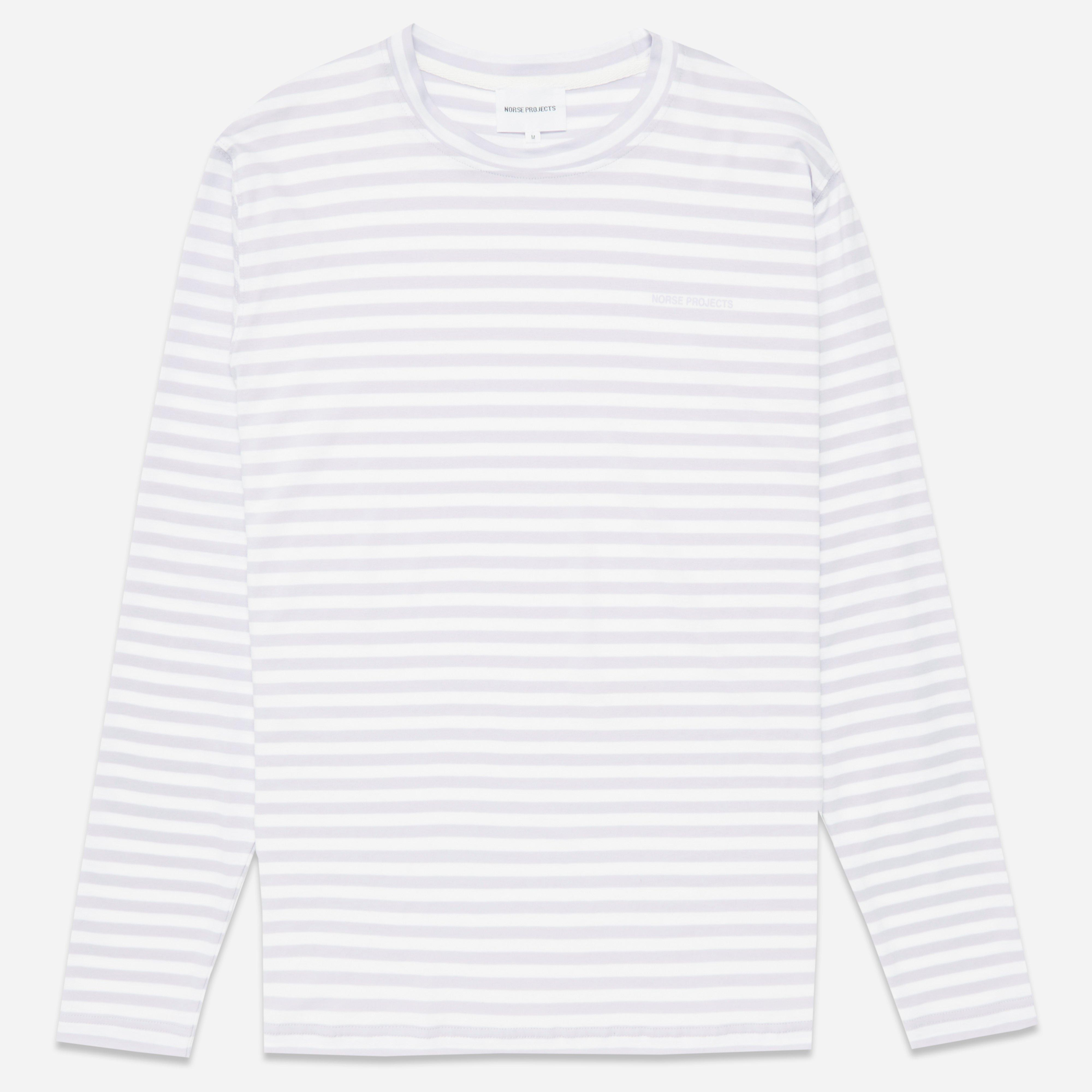 Norse Projects James Logo Stripe T-shirt
