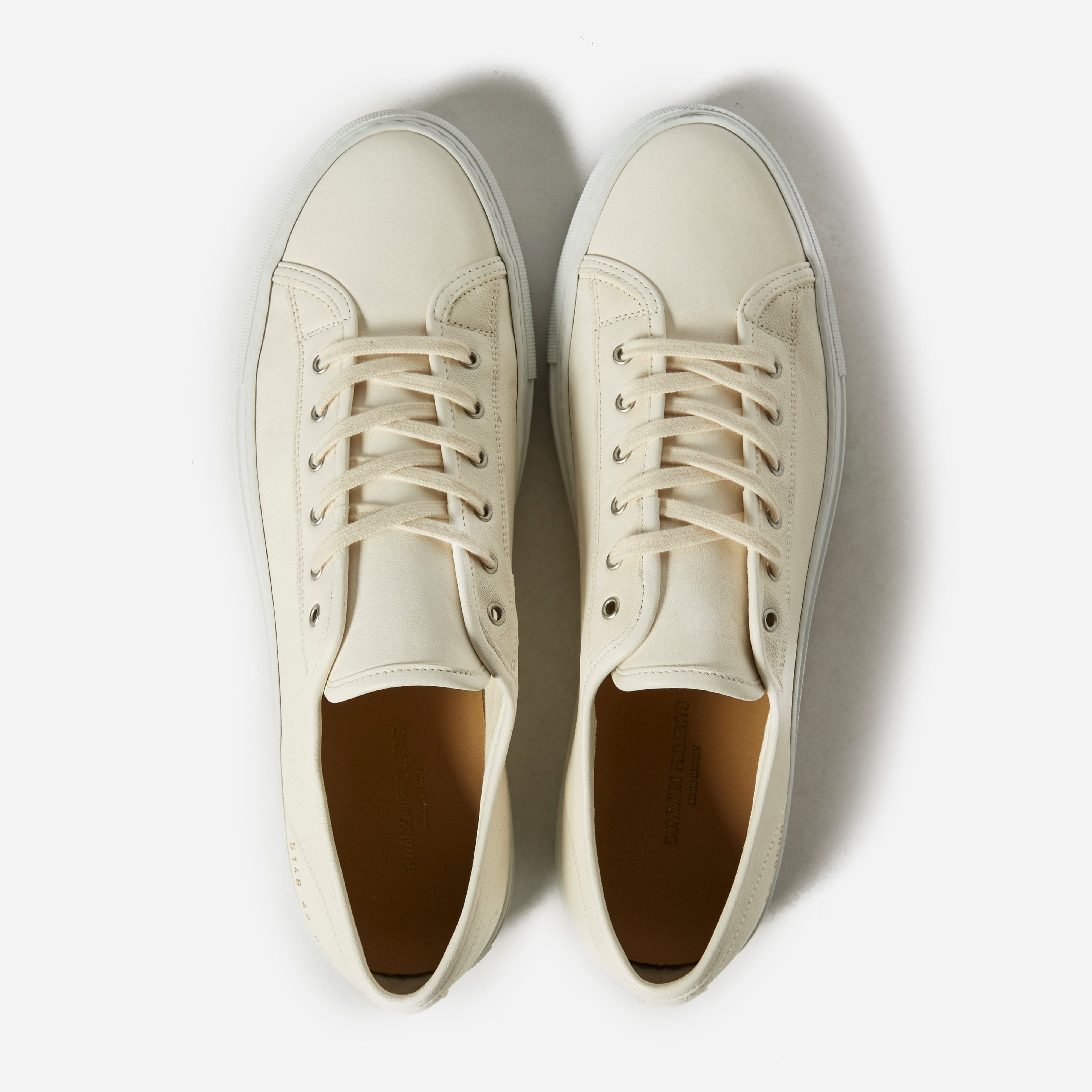 Common Projects Tournament Low Leather
