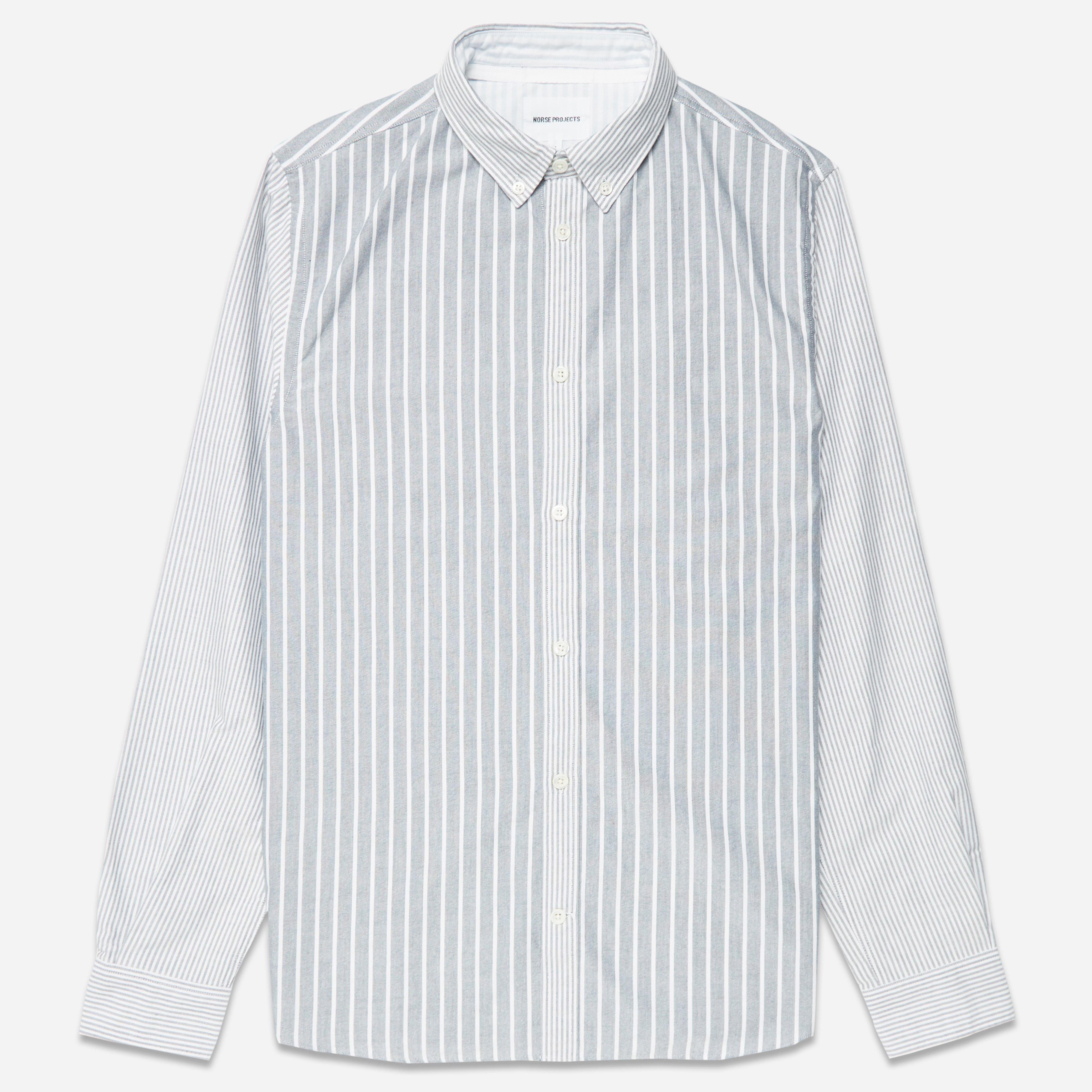 Norse Projects Anton Oxford Stripe Shirt