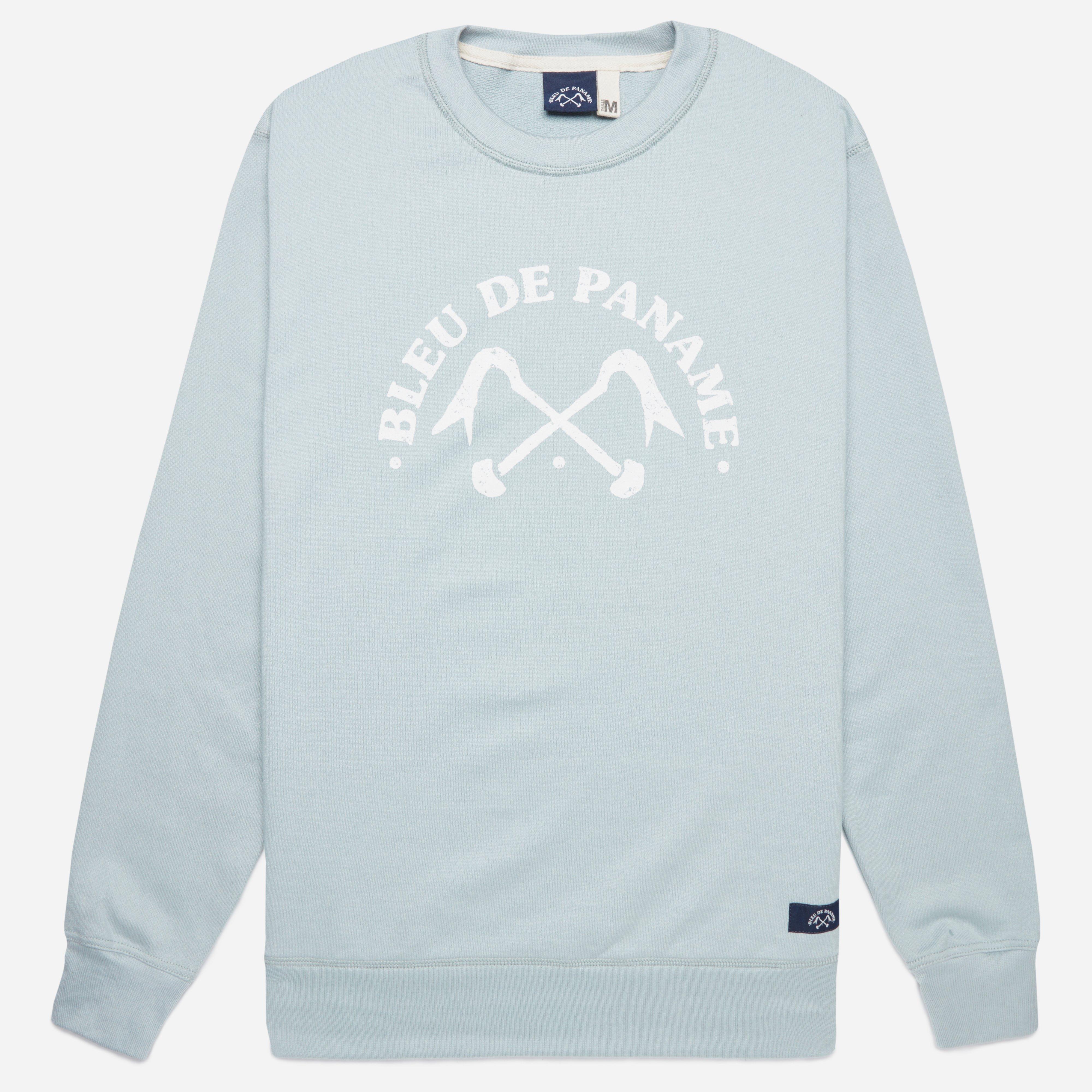 Bleu De Paname Logo Sweat