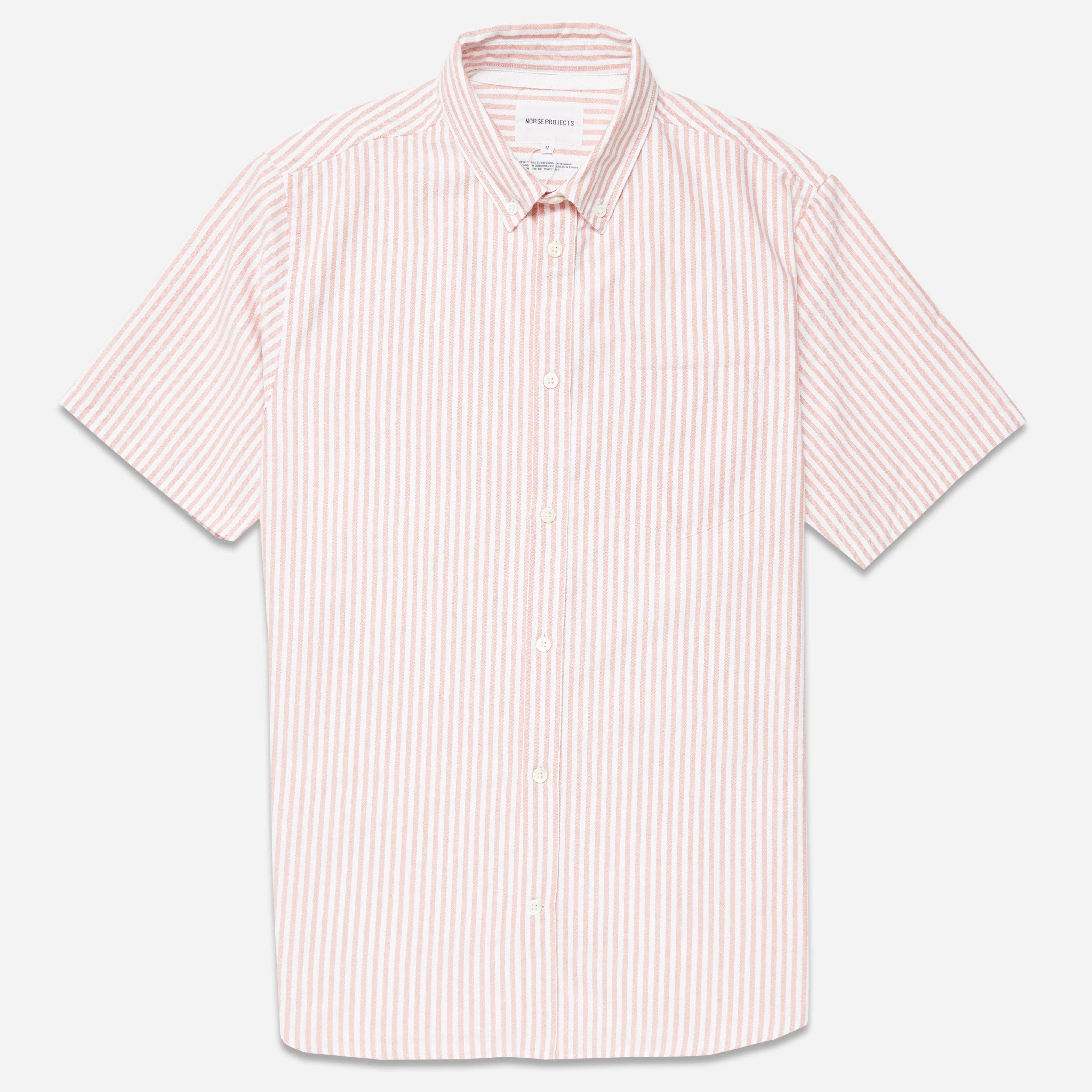 Norse Projects Theo Oxford Short Sleeve Shirt