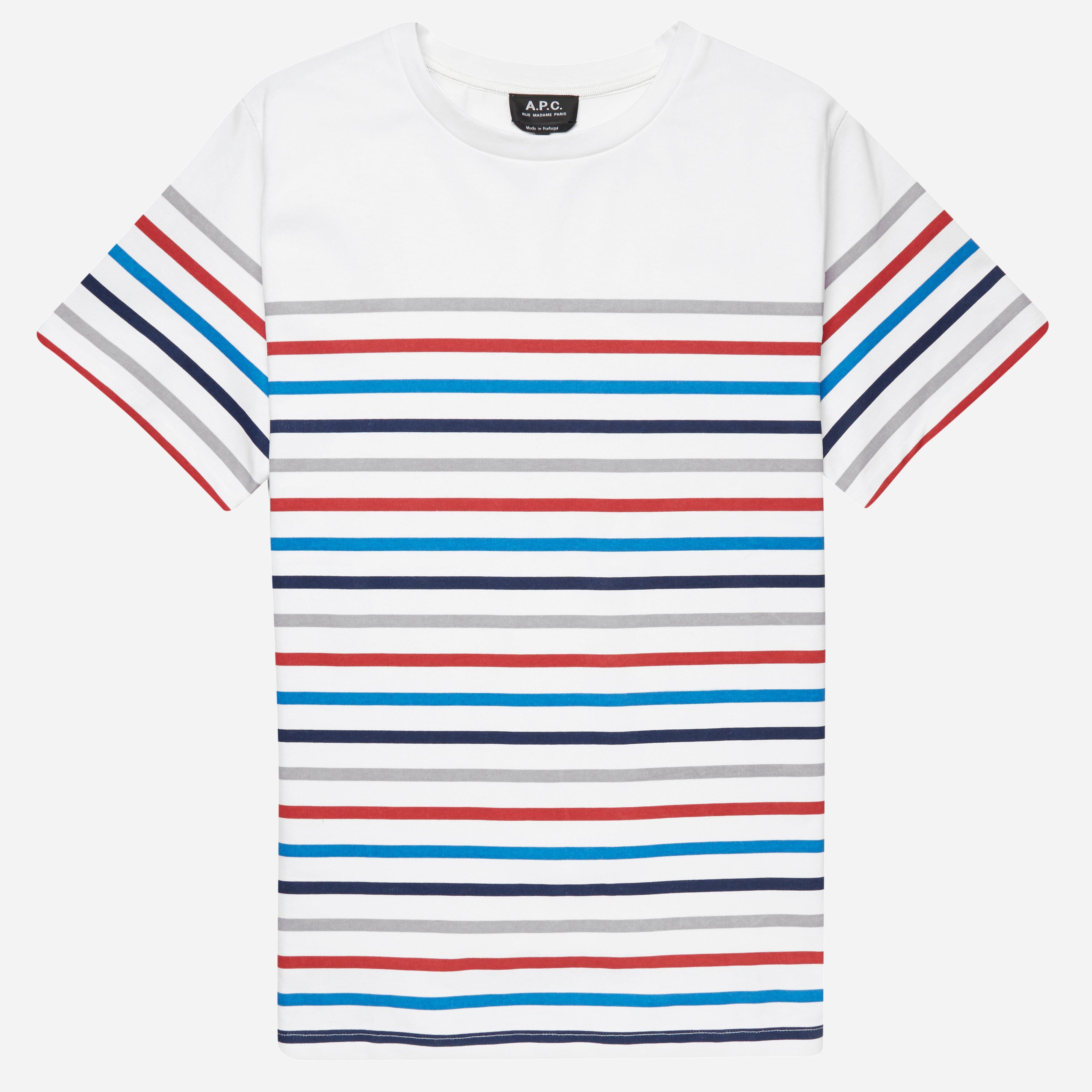 A.P.C Regular Stripe T-shirt