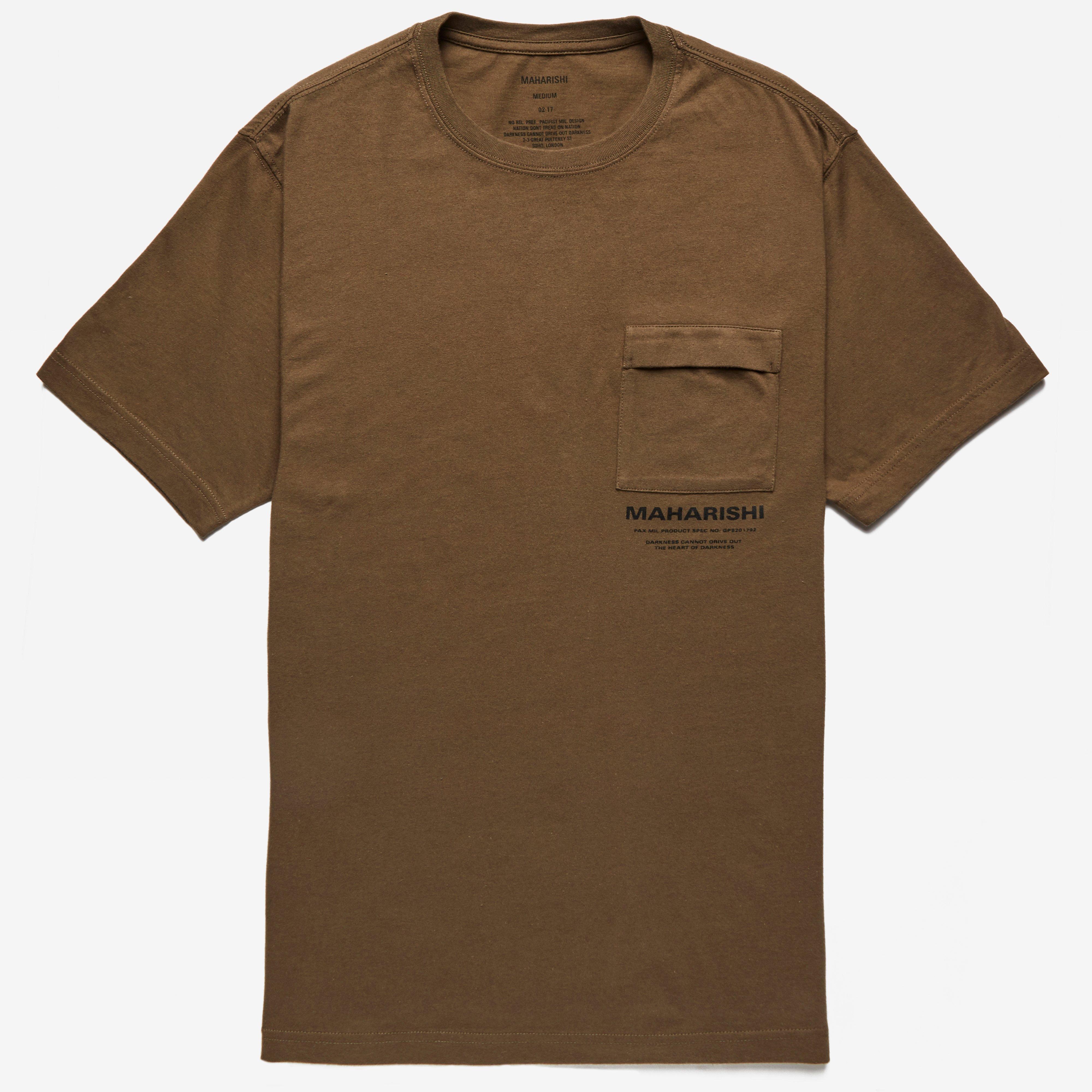 maharishi T-shirt Militaire Couvert