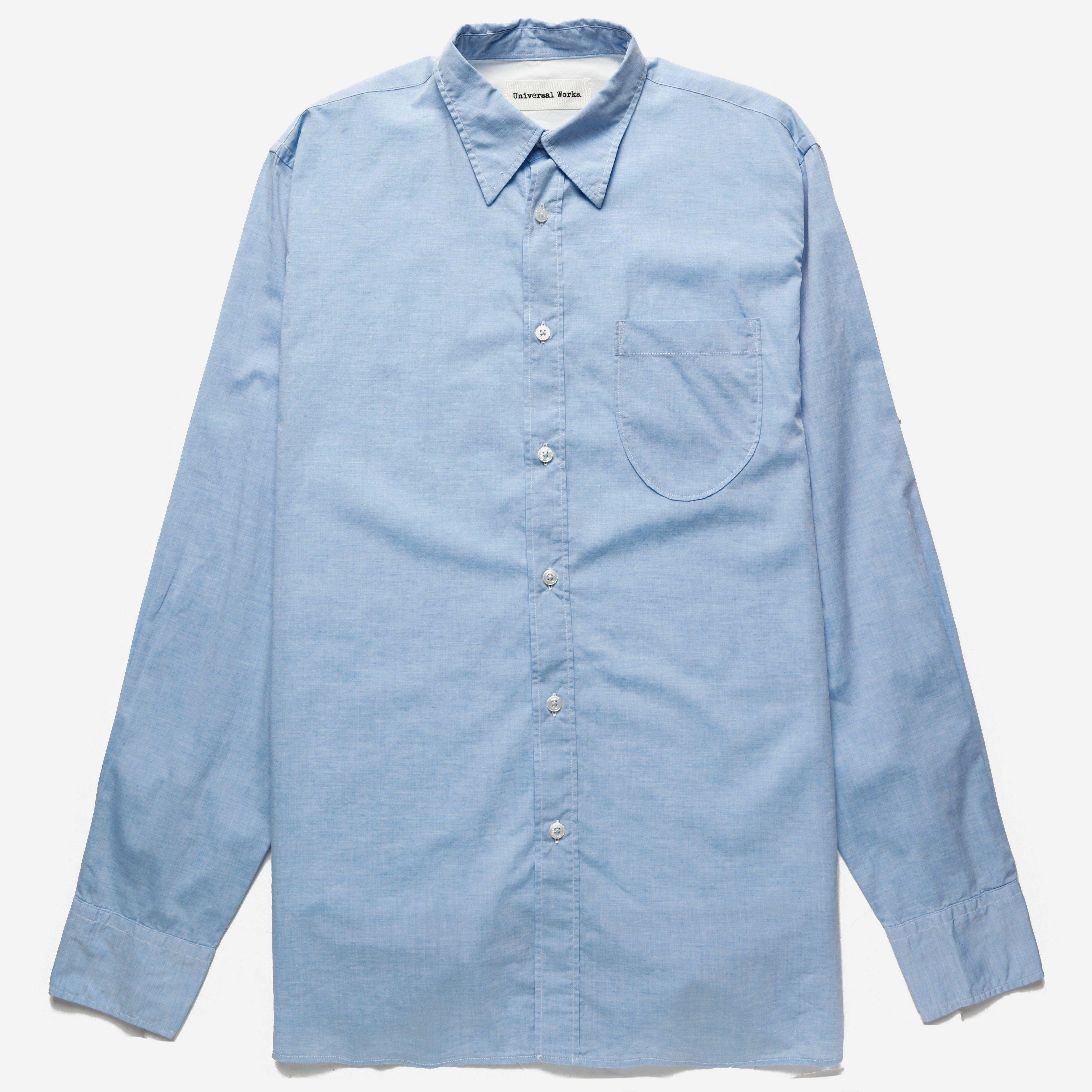 Universal Works Point Collar Shirt