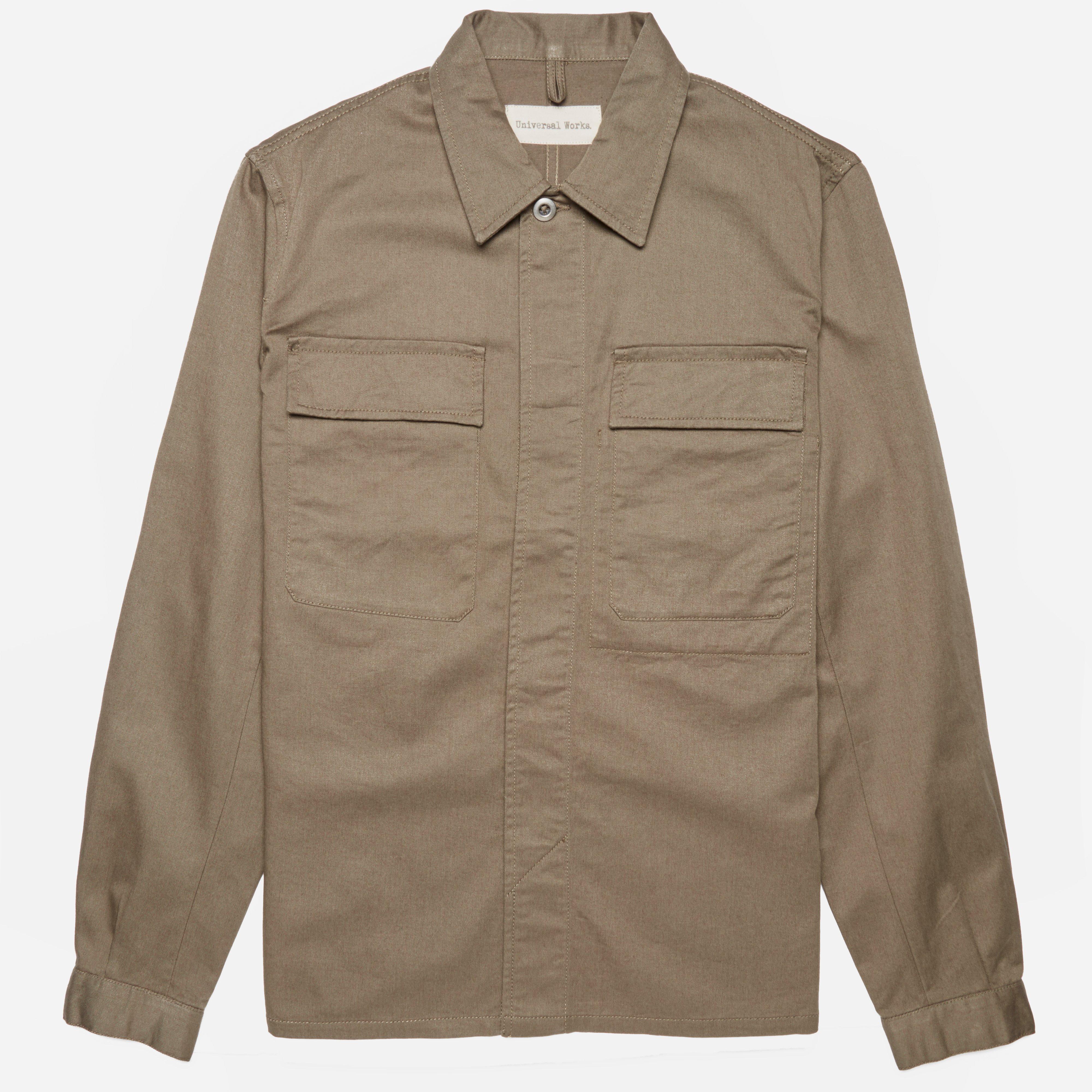 Universal Works Twill Military Work Shirt
