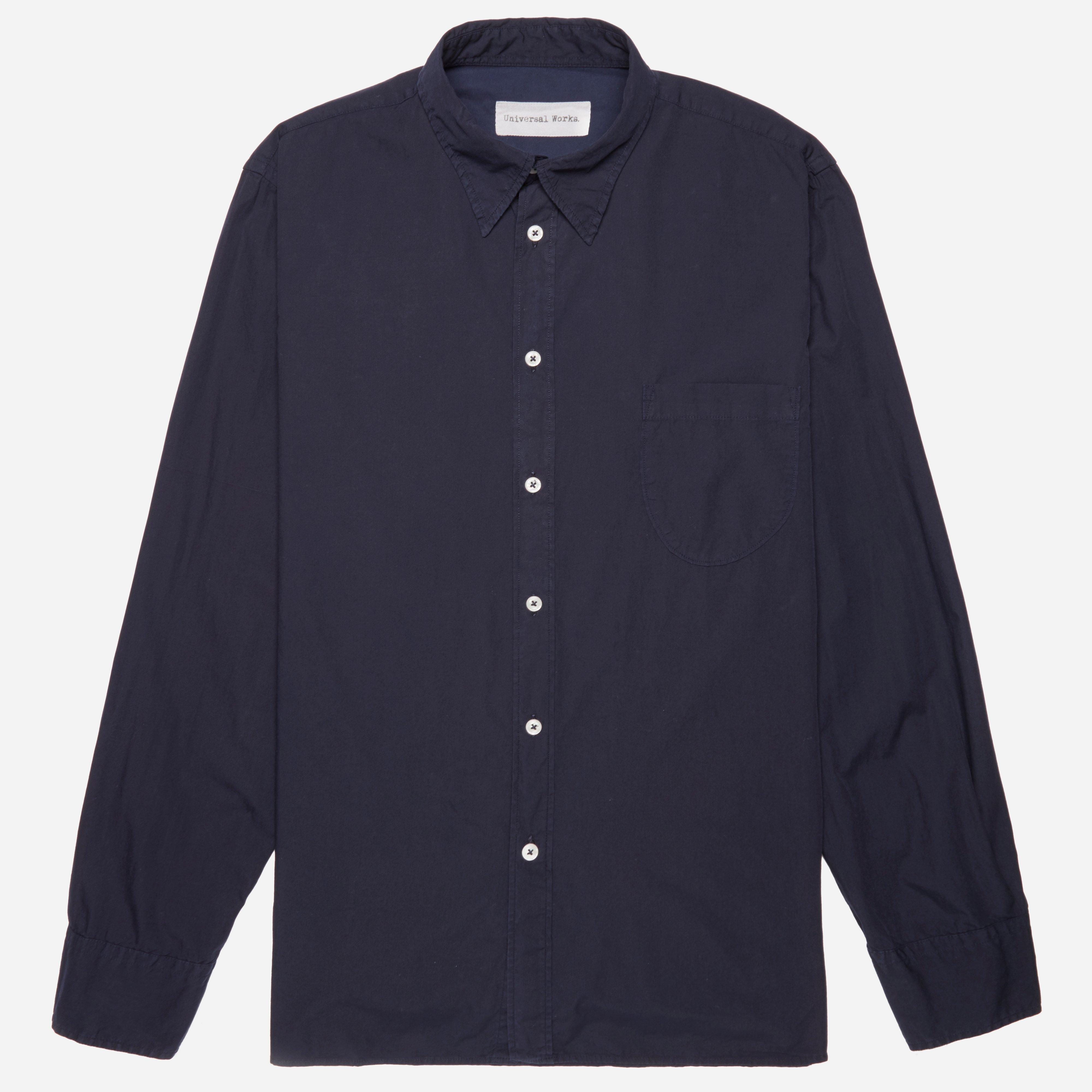 Universal Works Poplin Point Collar Shirt
