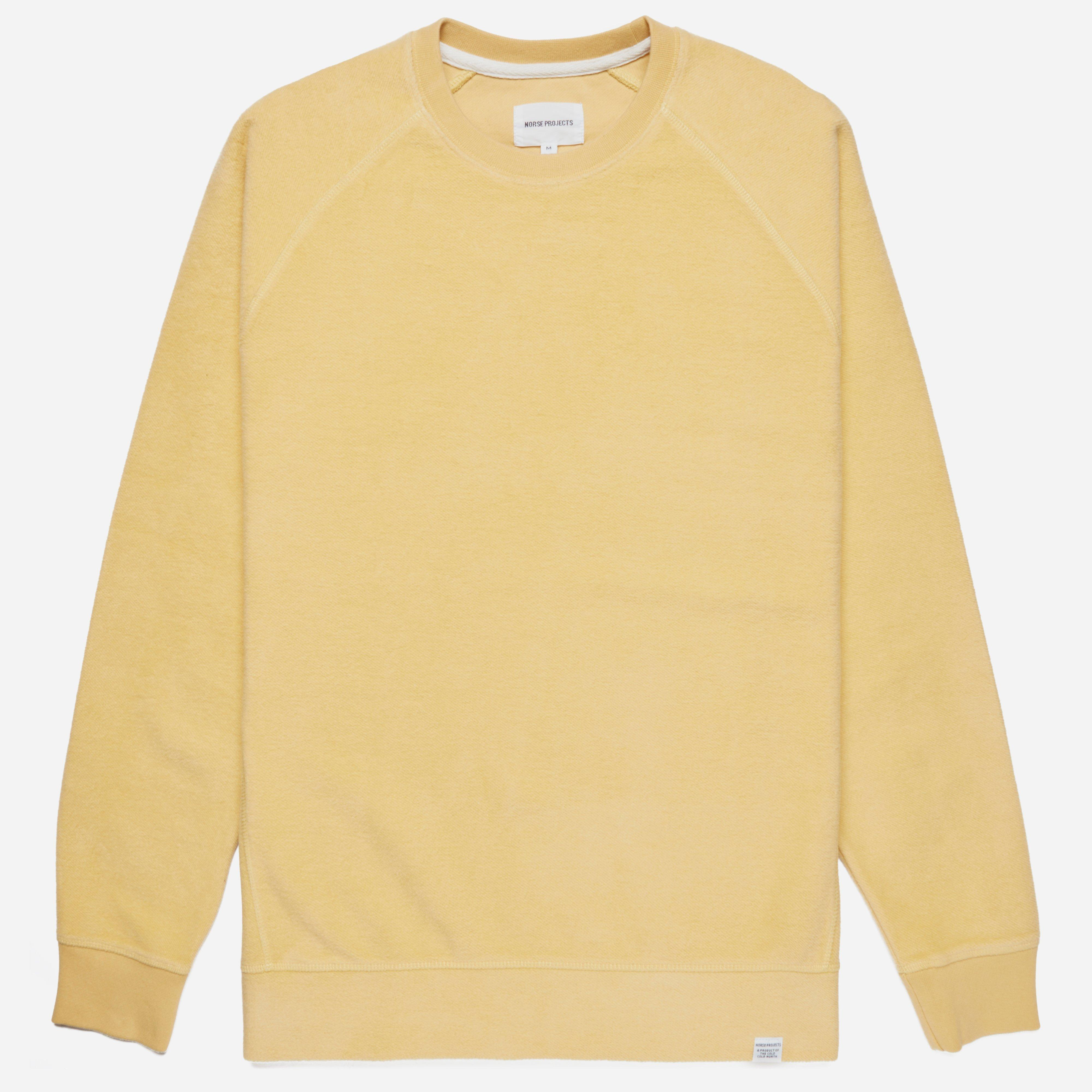 Norse Projects Ketel Solid Brushed Sweatshirt