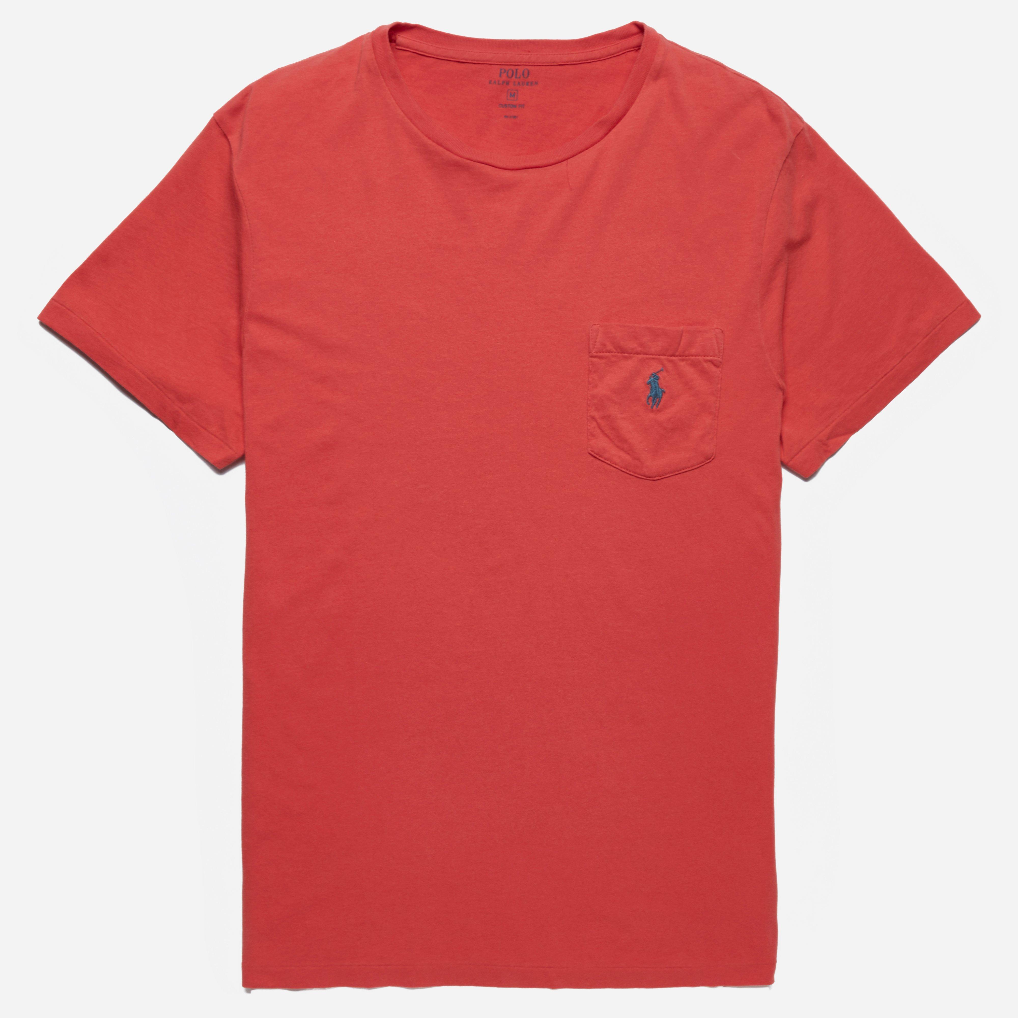 Polo Ralph Lauren Custom Fit Pocket T-shirt