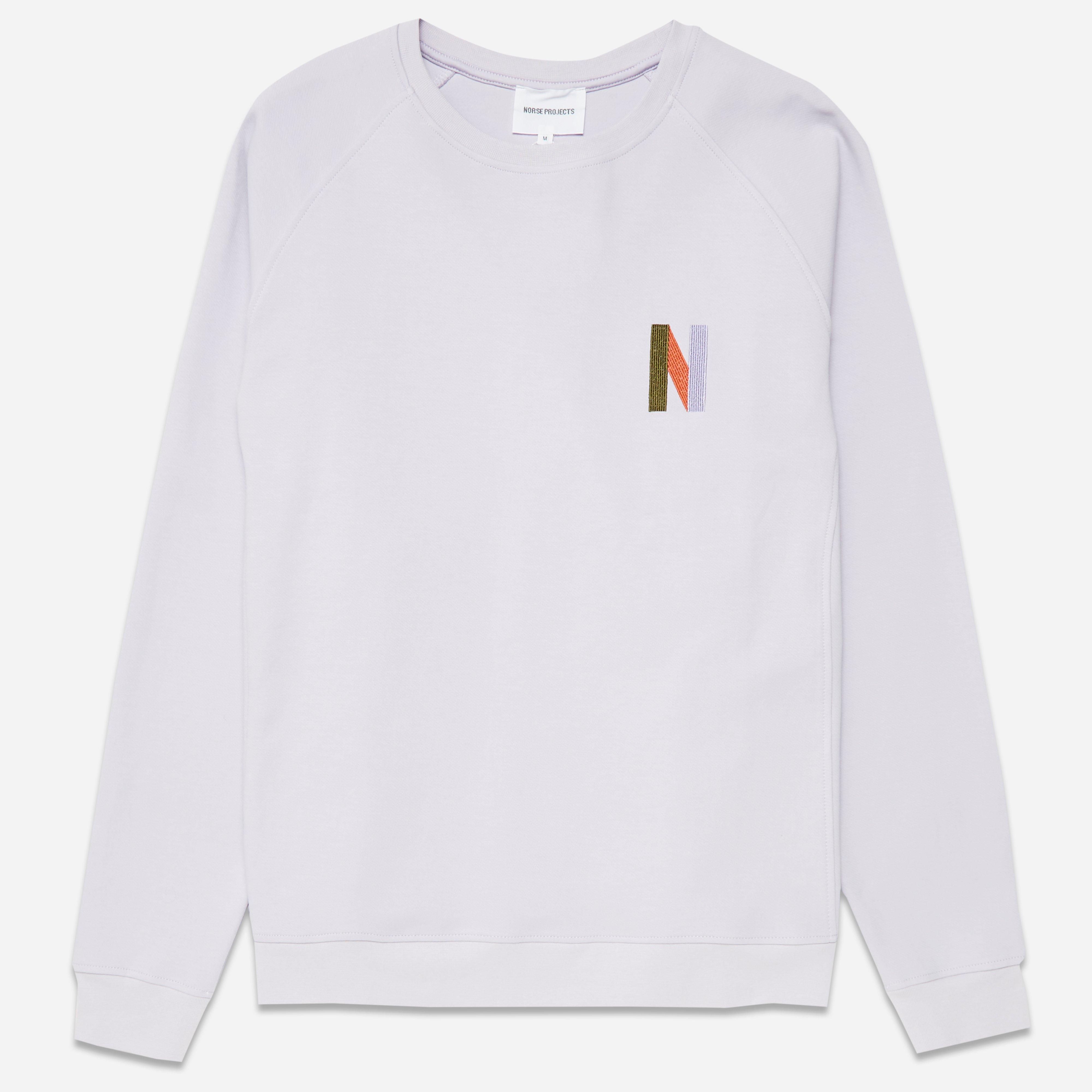 Norse Projects Ketel Crew Multi N Logo Sweatshirt