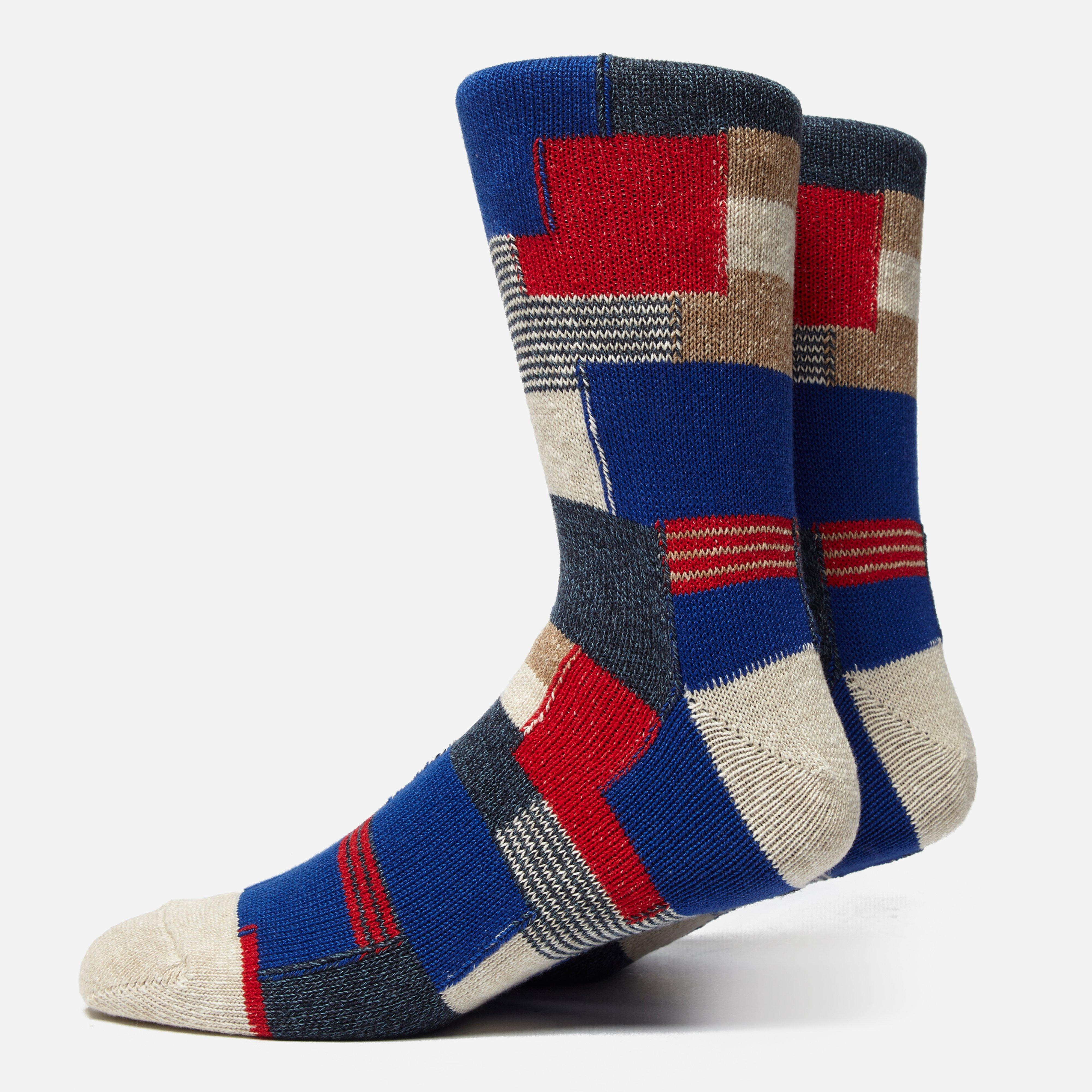 Anonymous Ism Patchwork Socks