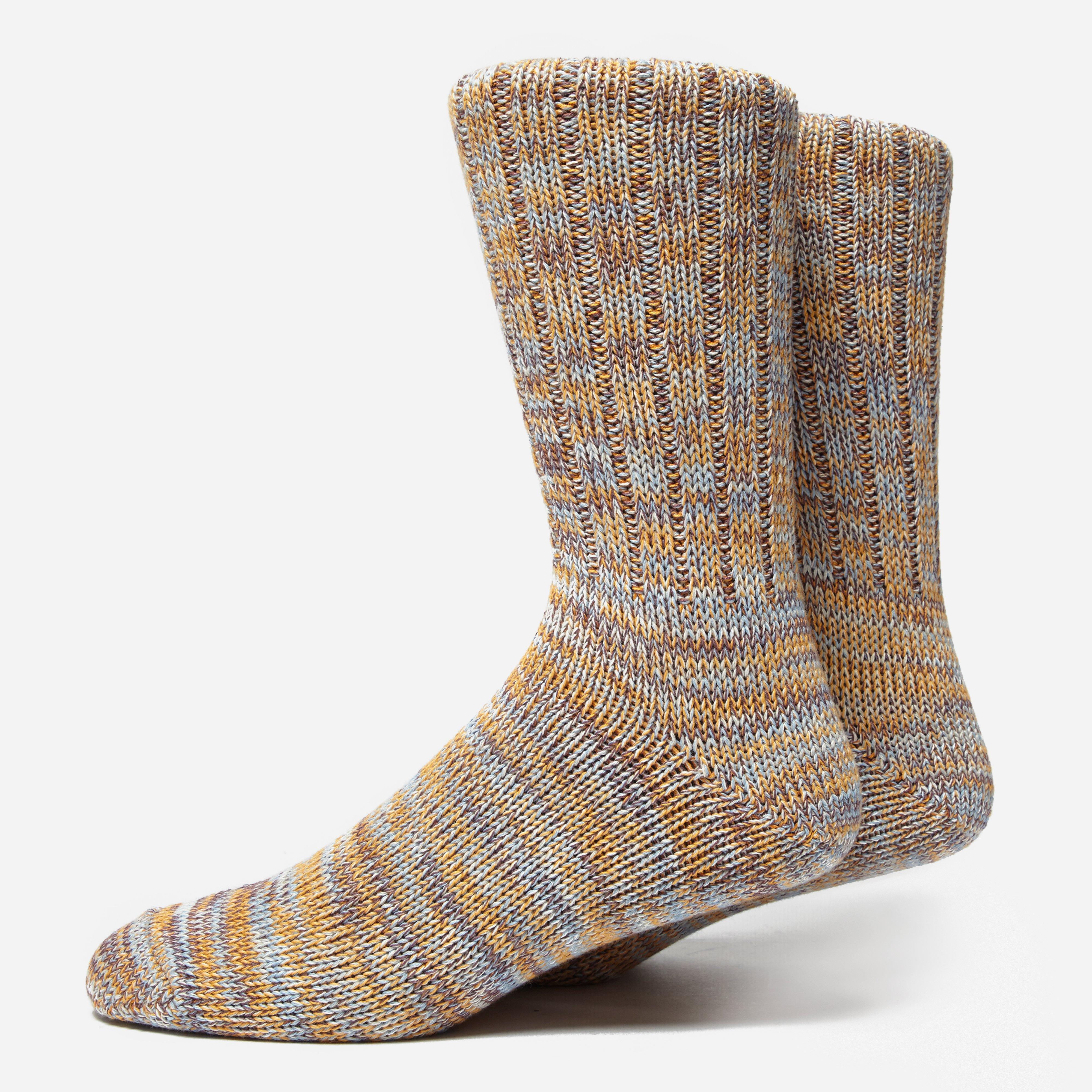 Anonymous Ism 5 Colour Mix Crew Socks