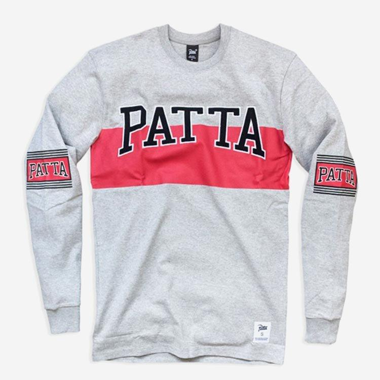 Patta Off Logo Heavy Longsleeve