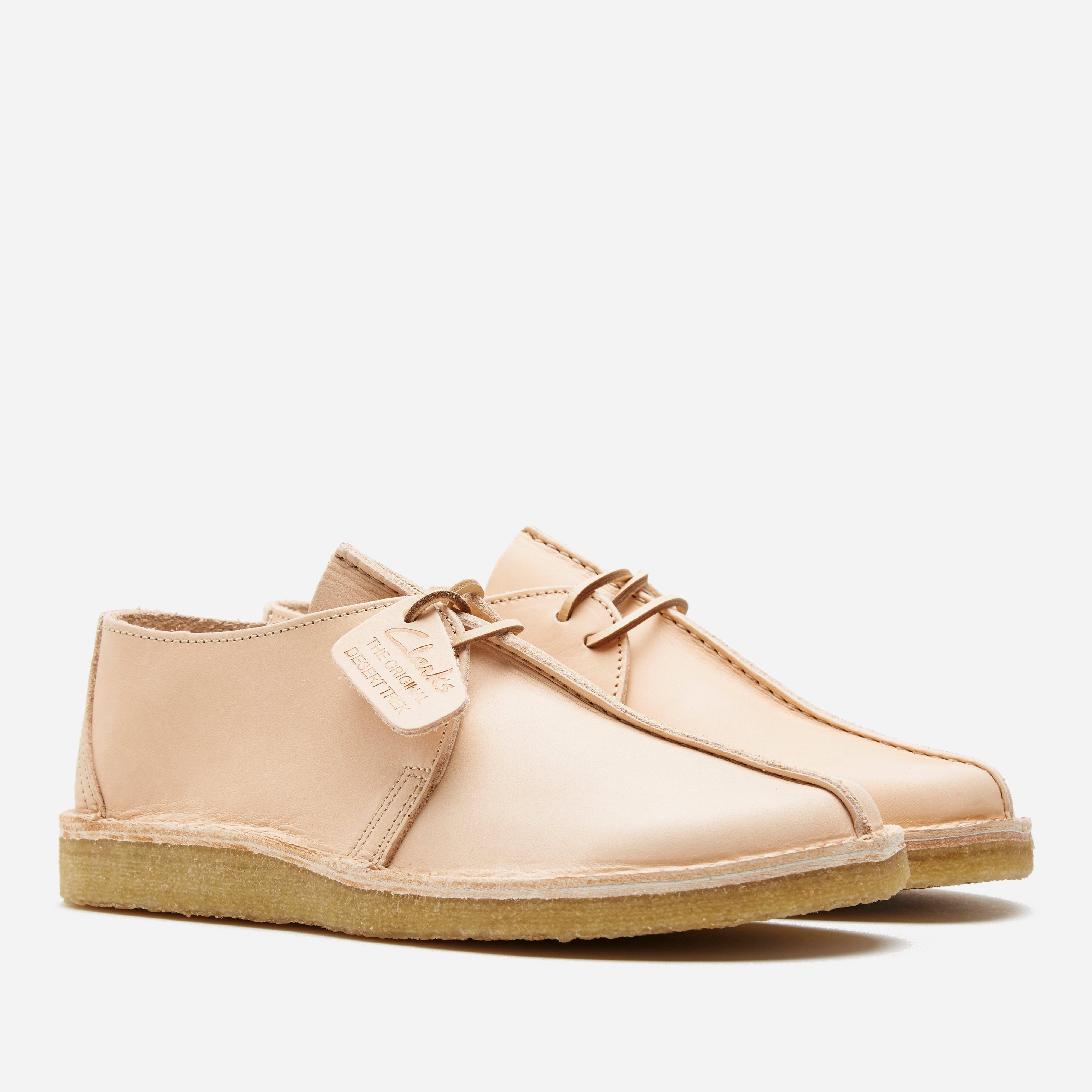 Clarks Originals Desert Trek Natural Tan Leather