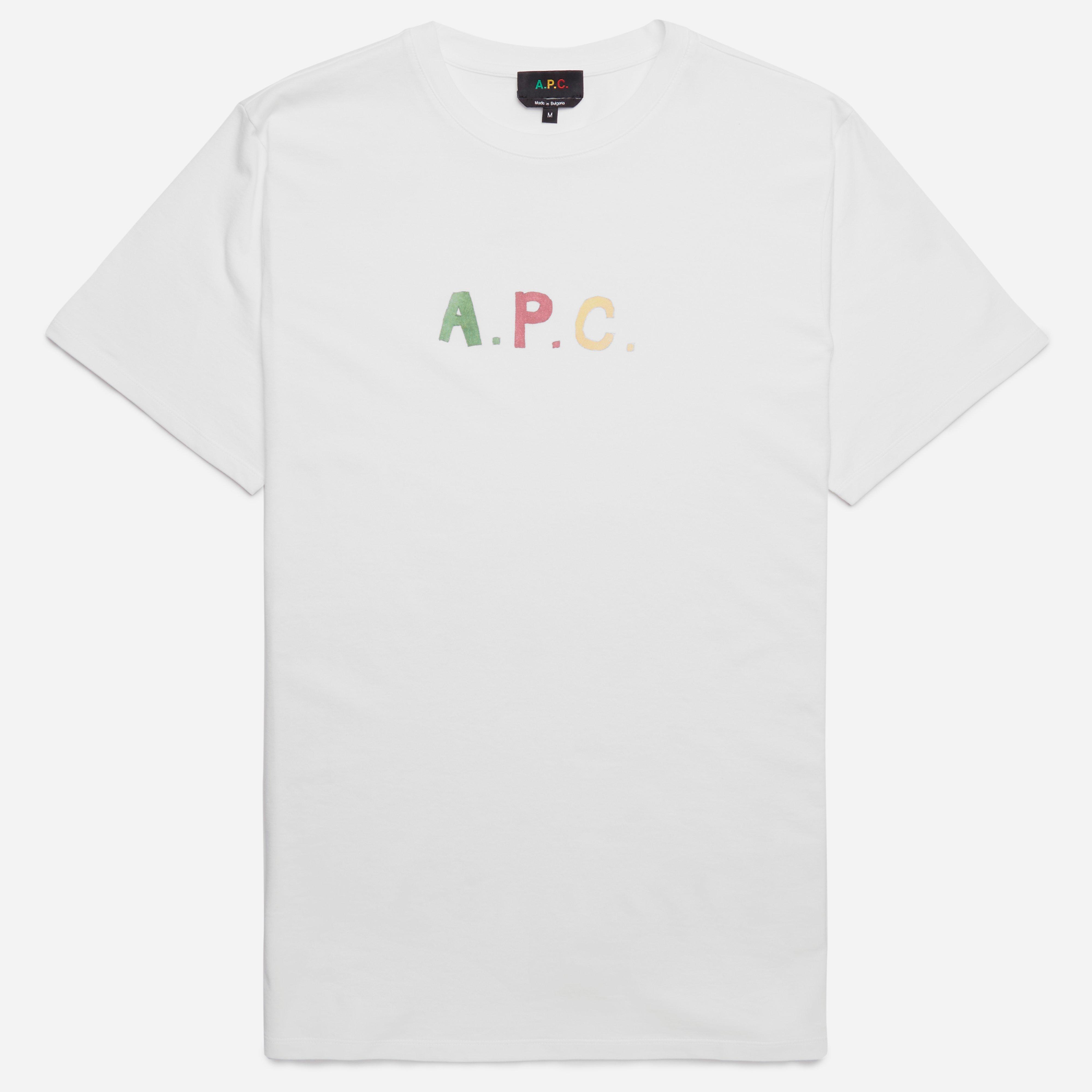 A.P.C Couleurs T-shirt