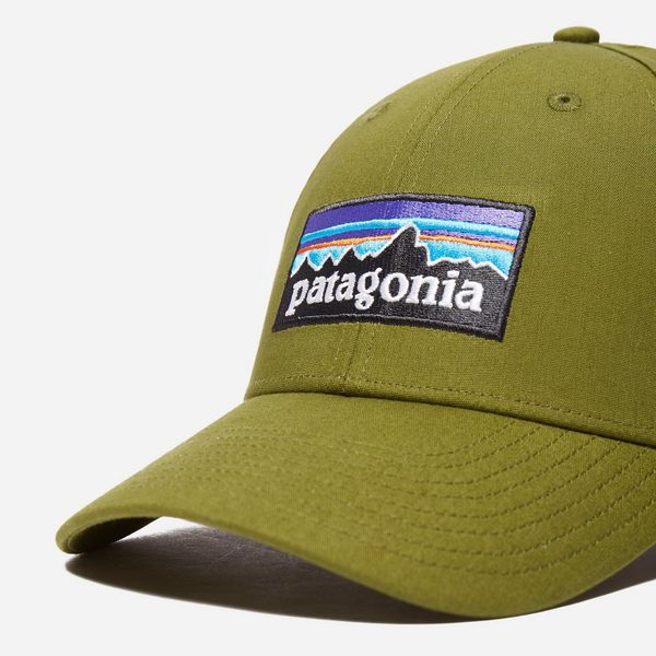Patagonia P-6 Logo Stretch Fit Hat  b4fbadd53ae