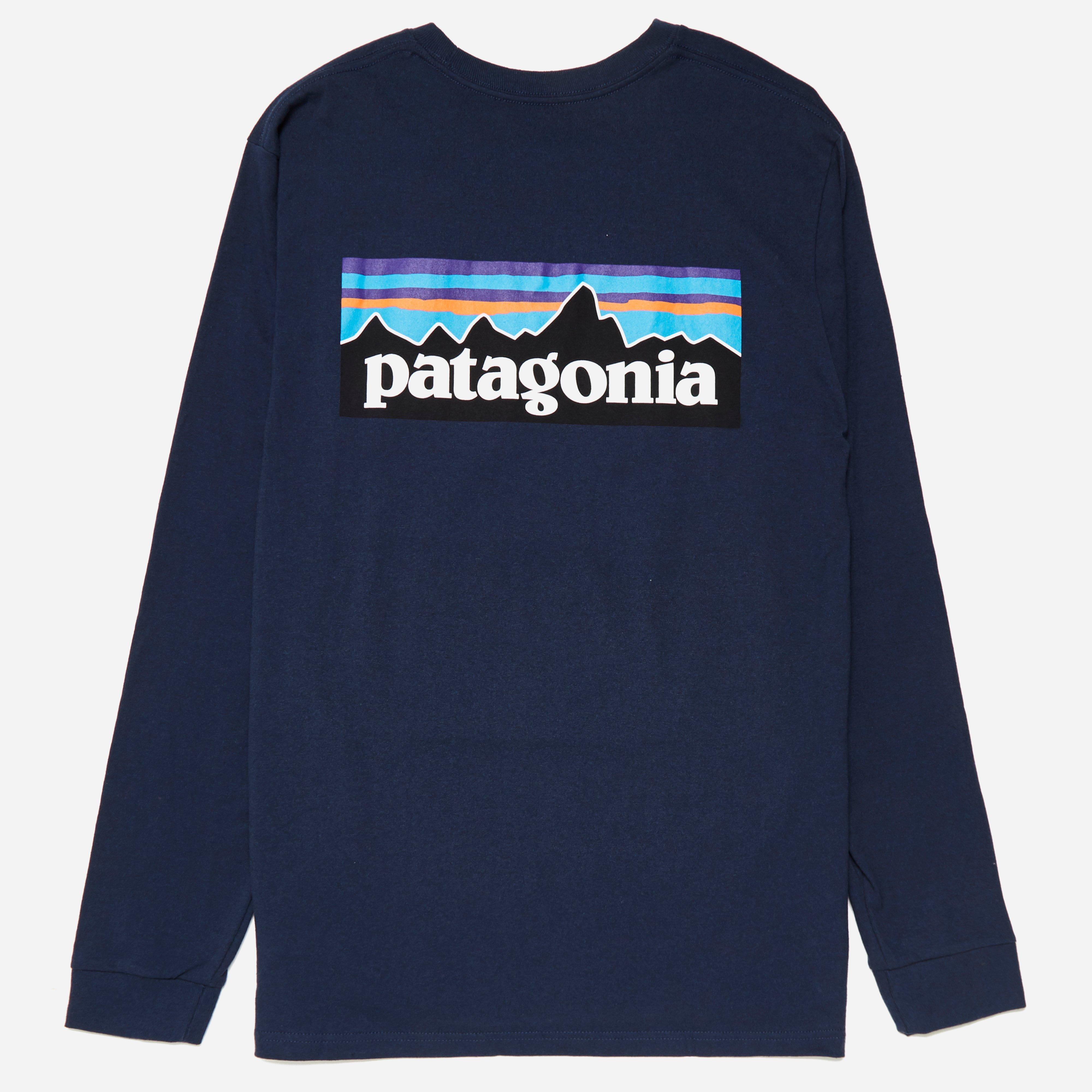 Patagonia Long Sleeve P-6 Logo Responsibili T-Shirt