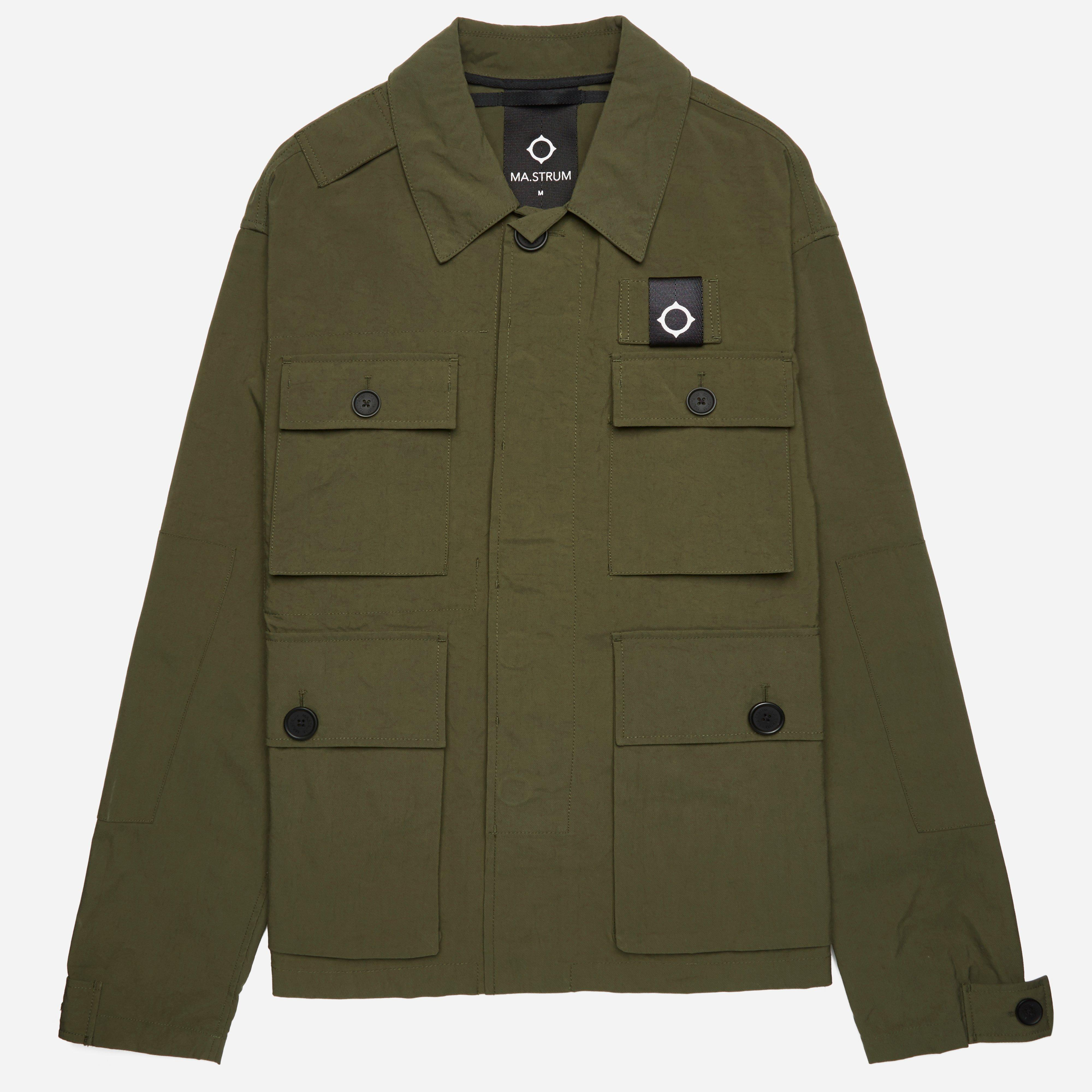 MA.STRUM Charioteen Bomber Jacket