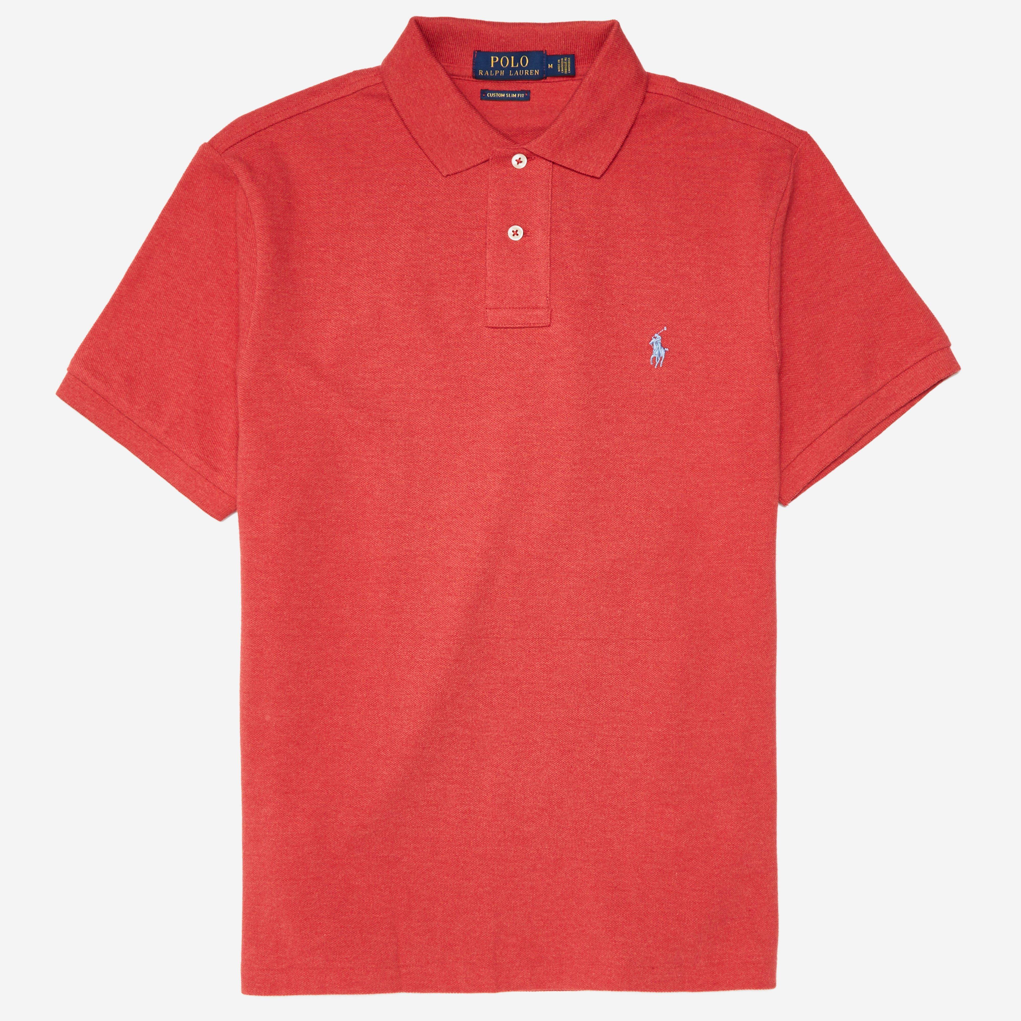 Polo Ralph Lauren Basic Mesh Knitted Polo Shirt