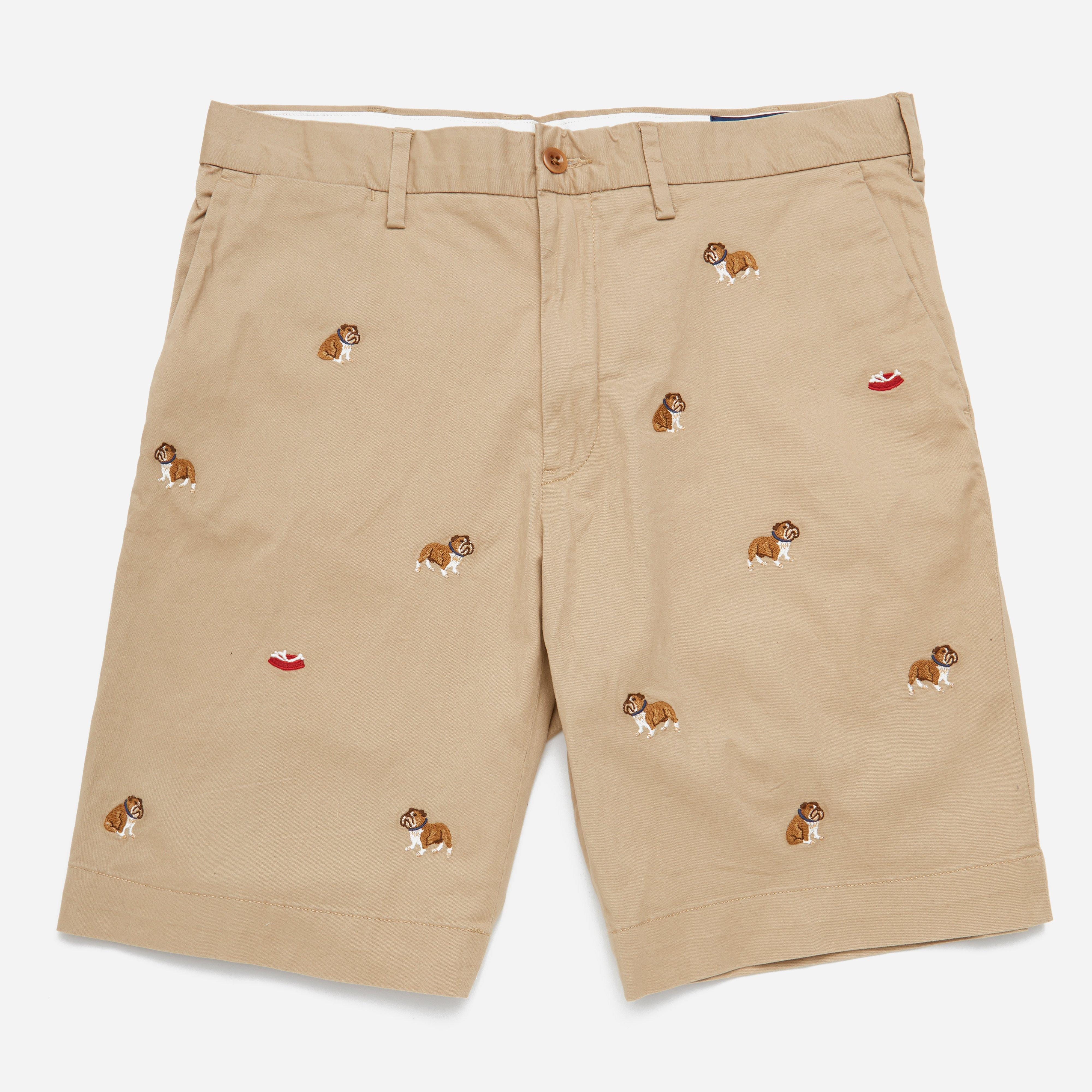 Polo Ralph Lauren Newport Flat Short Embroided