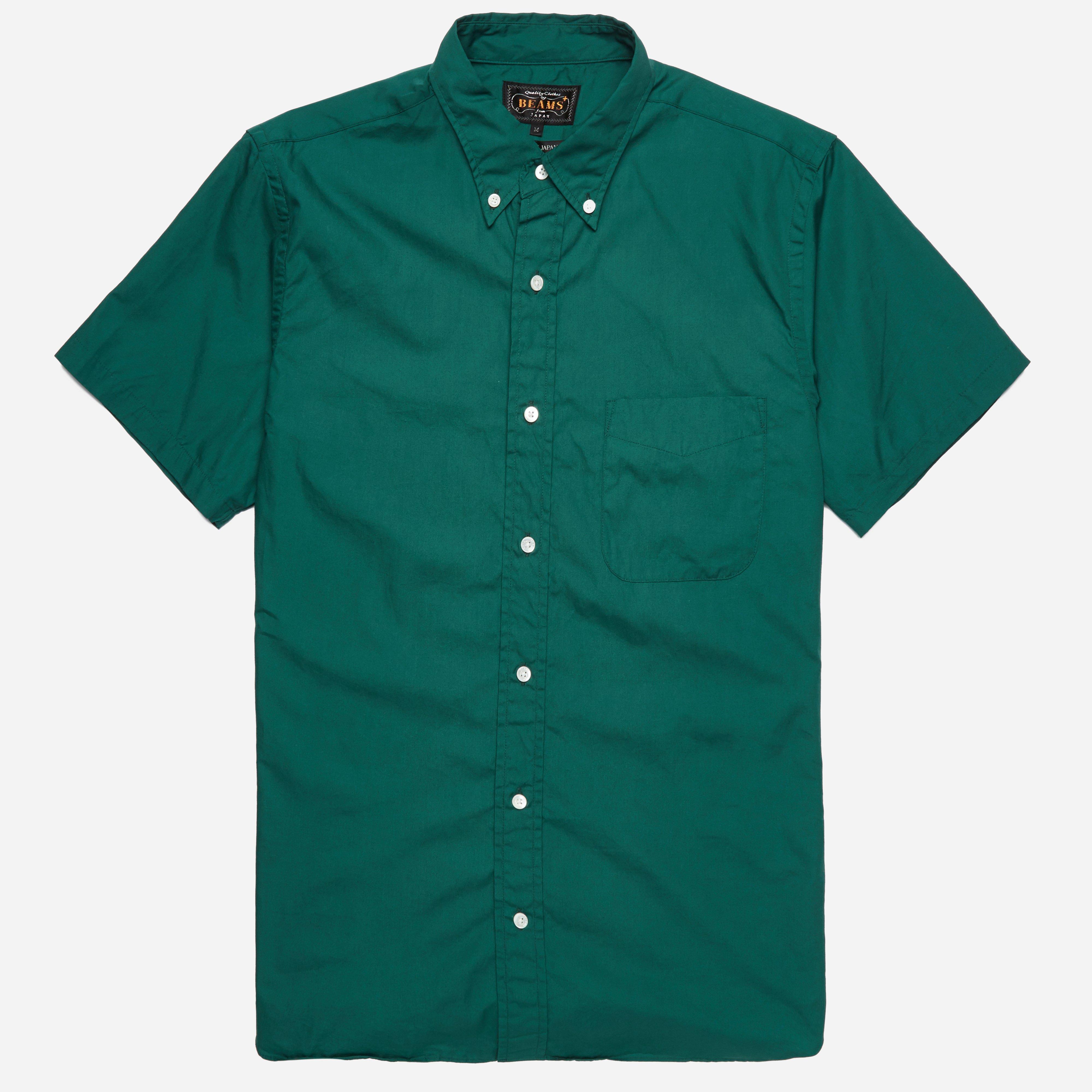 Beams Plus BD Color Broad SS Shirt