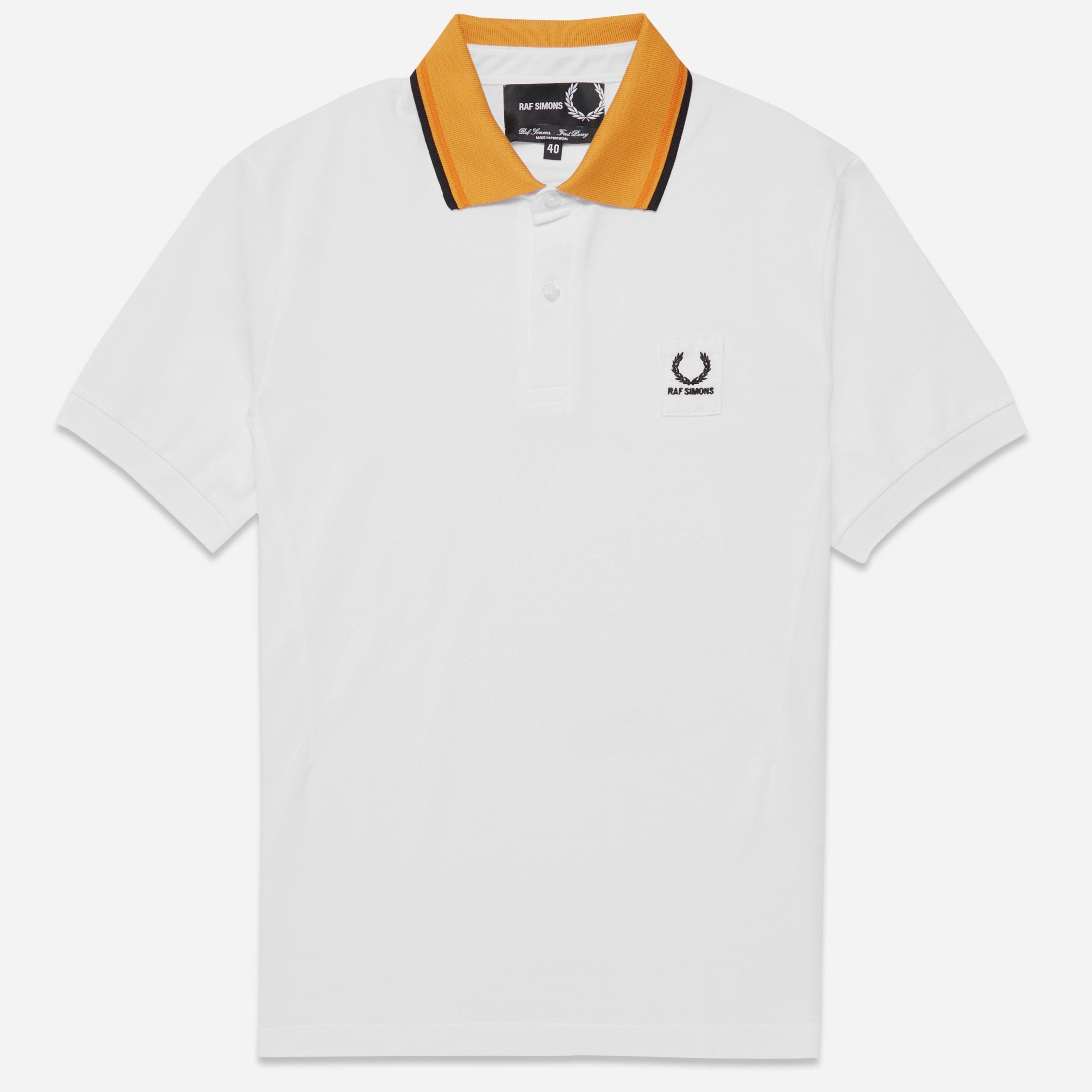 Fred Perry x Raf Simons Contrast Collar Pique Shirt