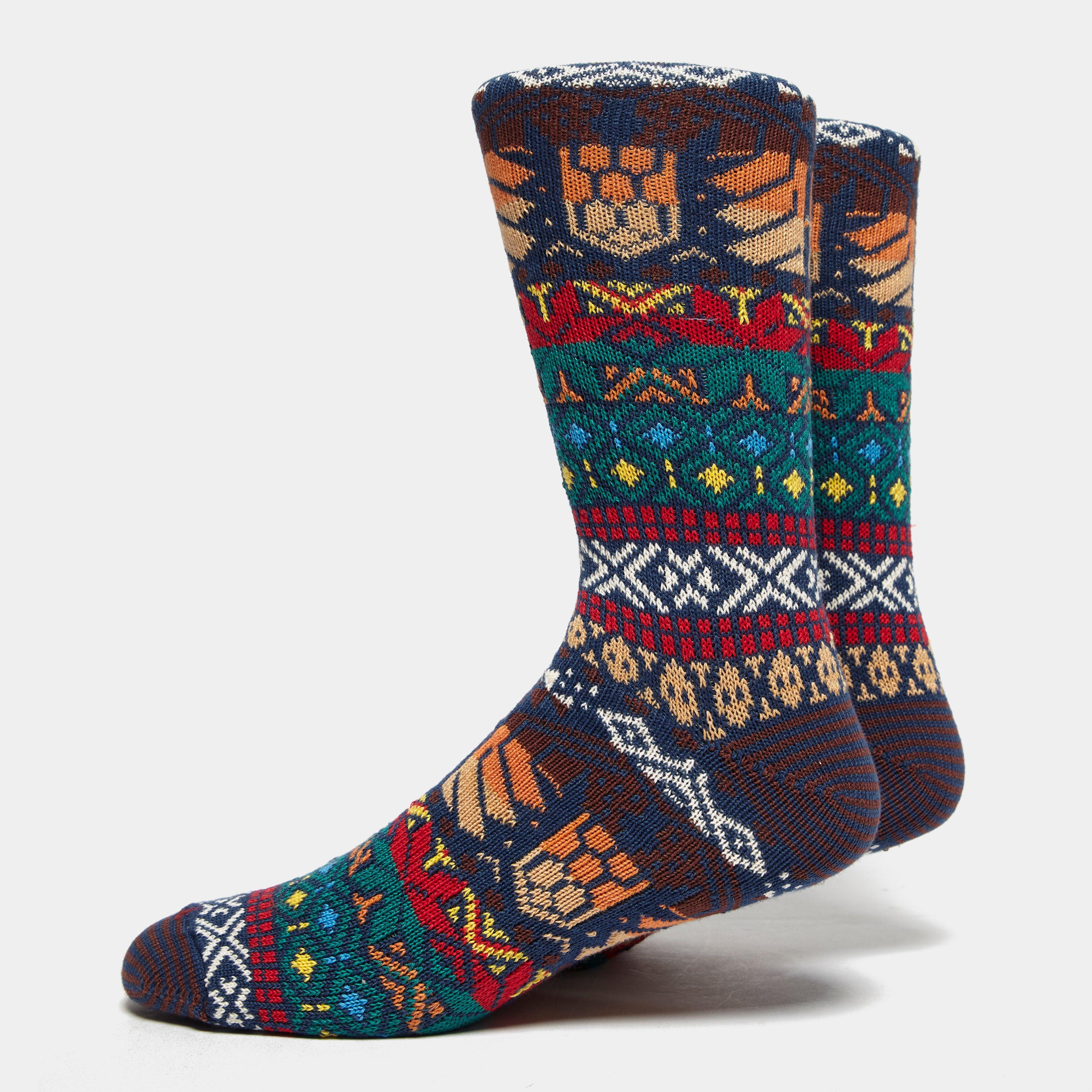 Anonymous Ism Guatemala Crew Socks