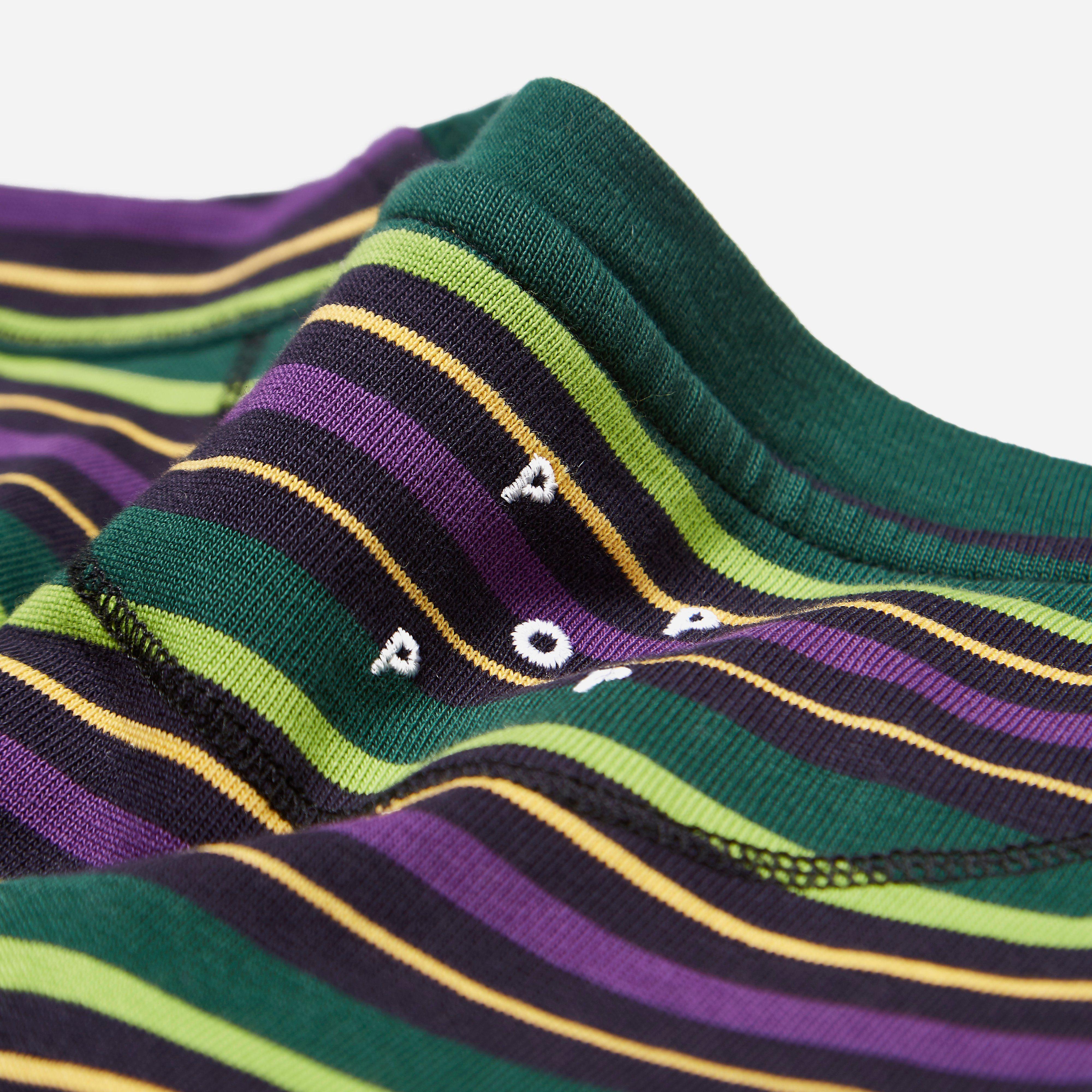 Pop Trading Company Alpine Stripe Long Sleeve T-shirt