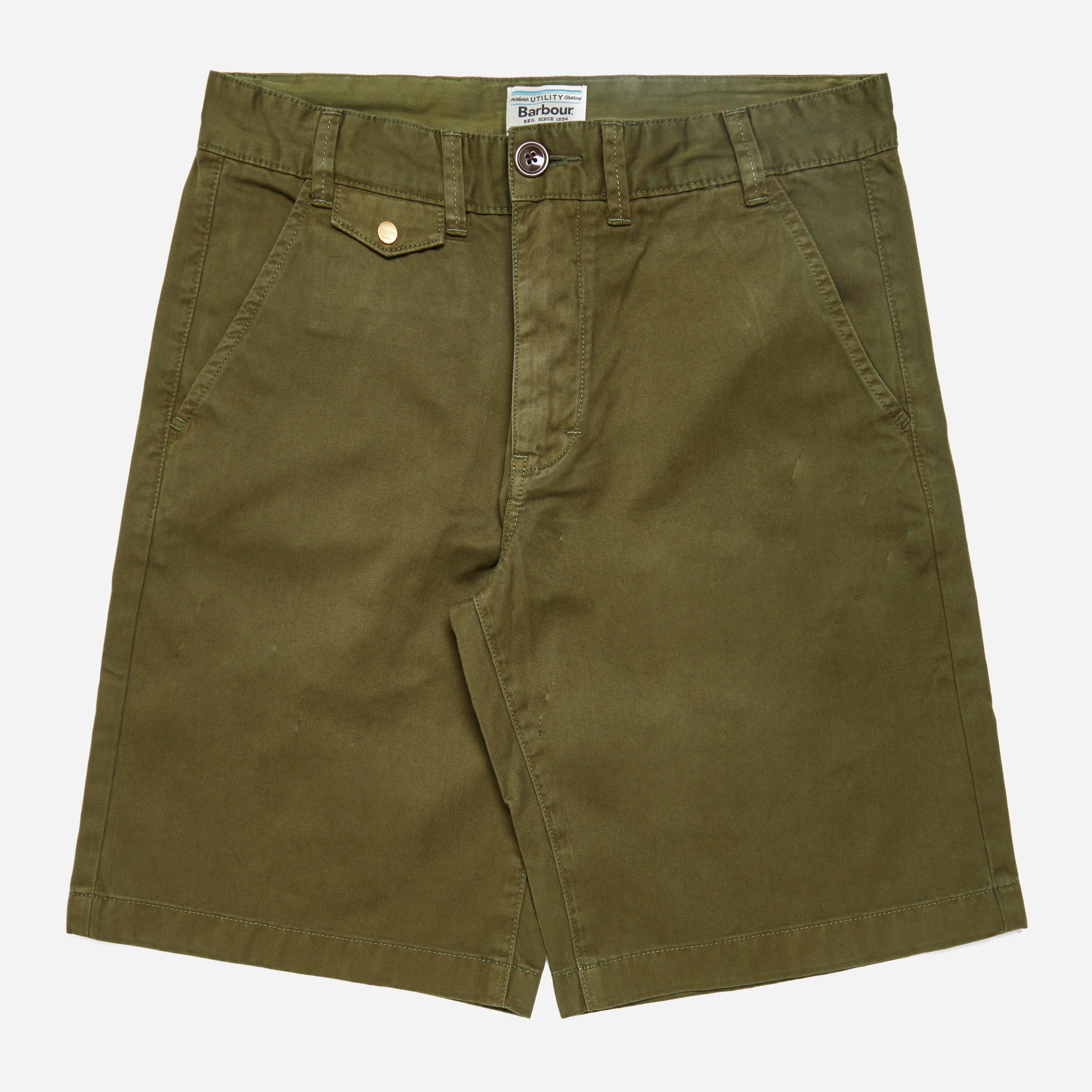 Barbour Neuston Twill Short