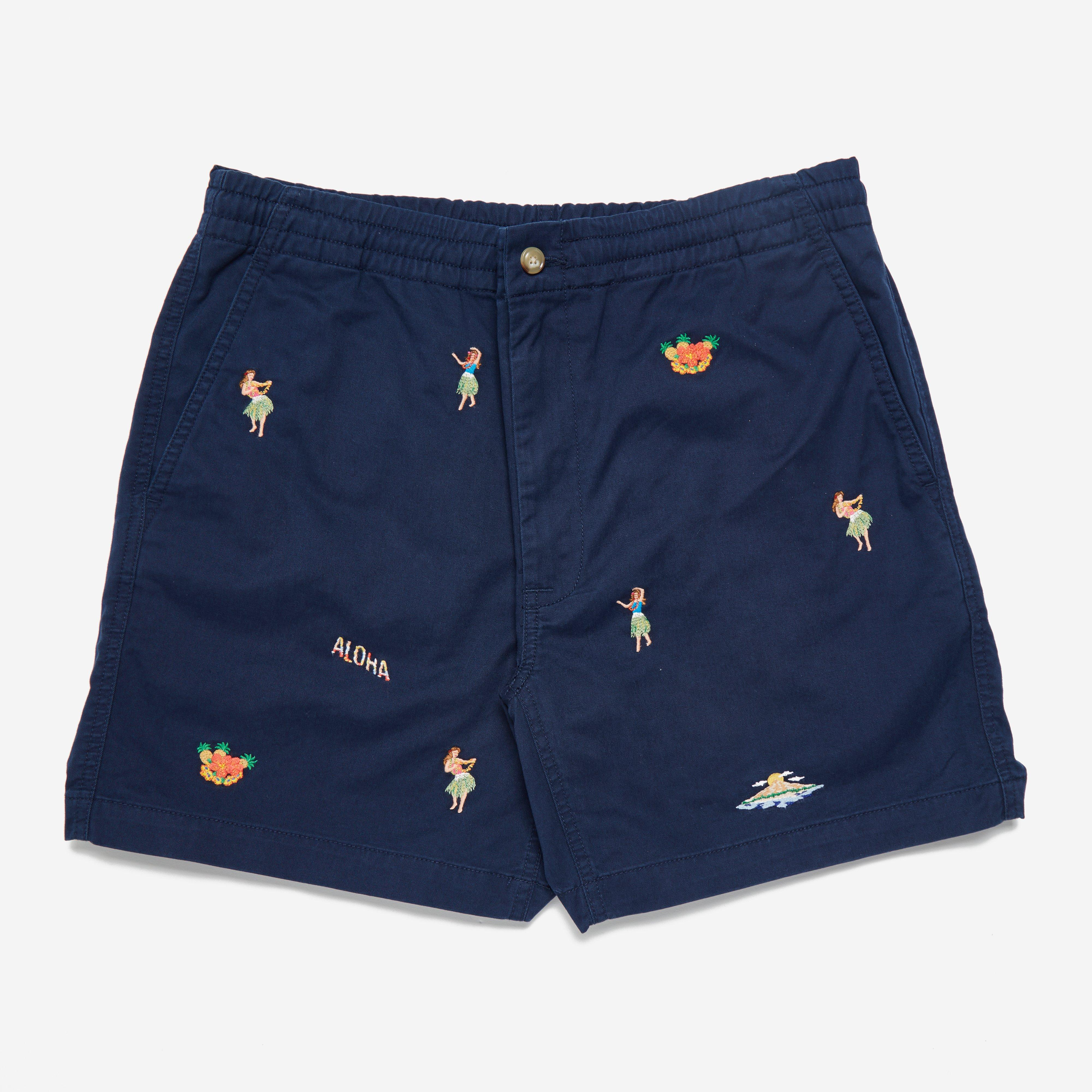 Polo Ralph Lauren Embroided Chino Short