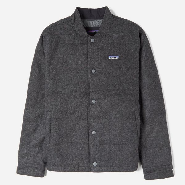 Recycled Wool Bomber Jacket Wool Patagonia Patagonia Recycled 55gBq