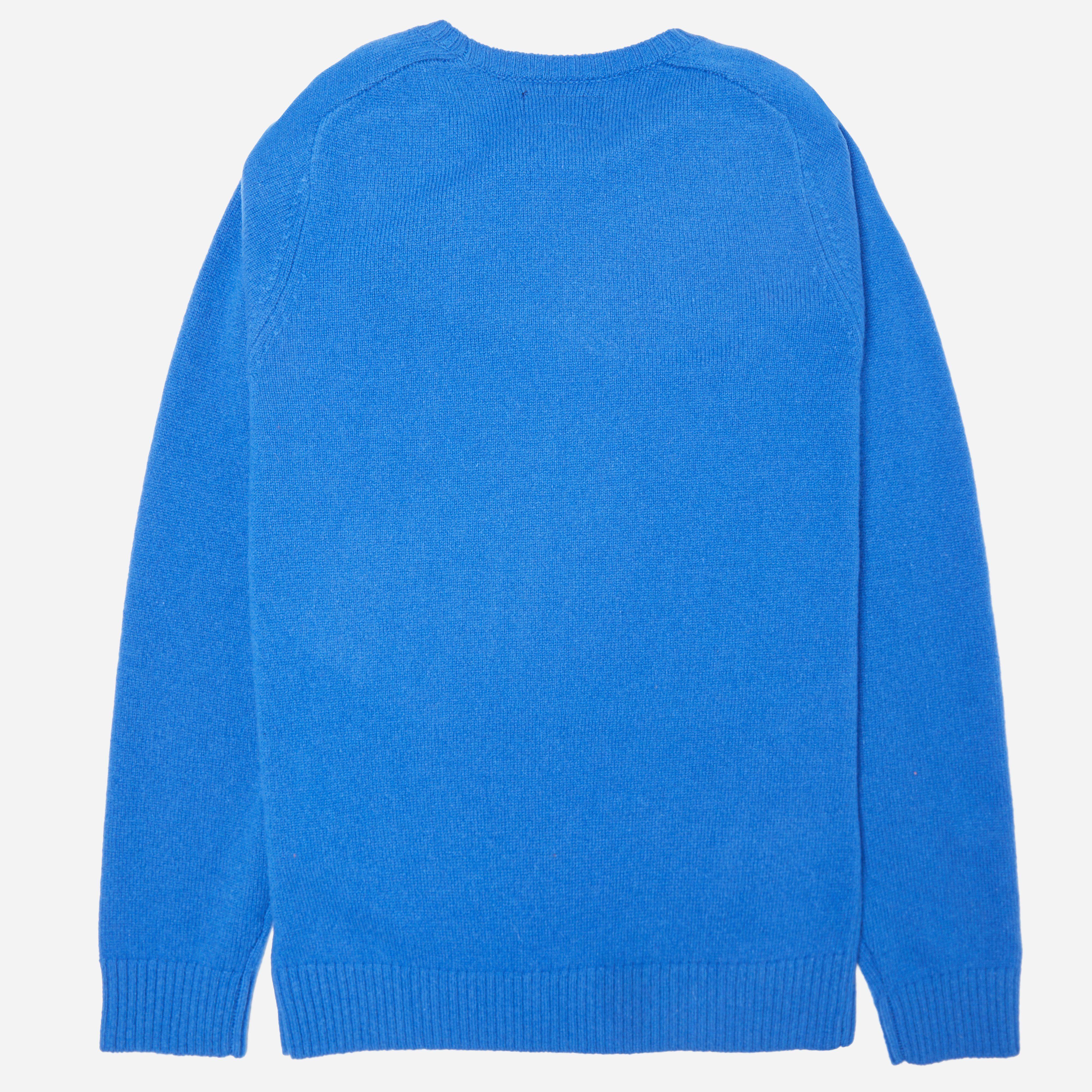 Beams Plus Lambswool Crew Knit