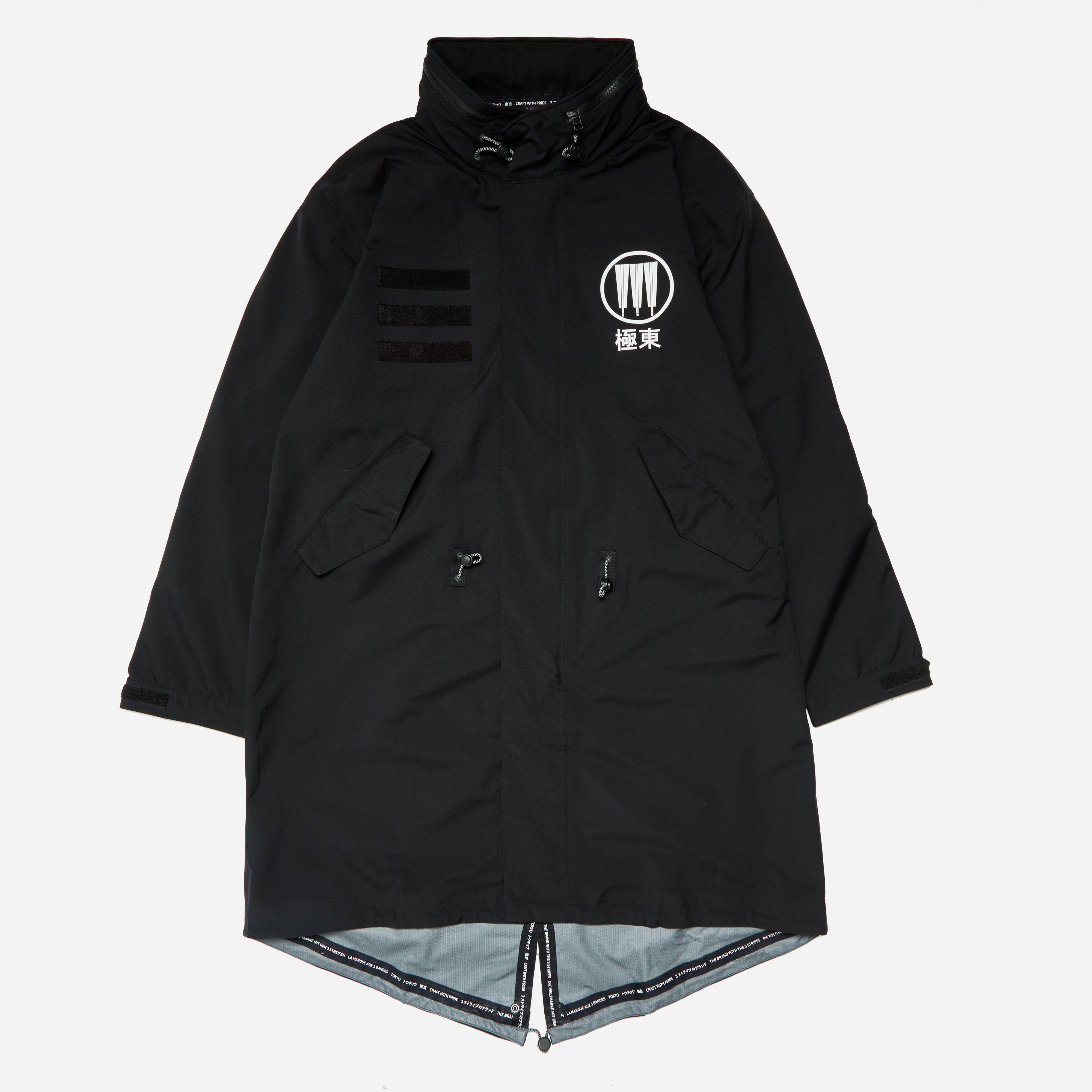 Adidas Originals x barrio m 51 chaqueta la cadera Store