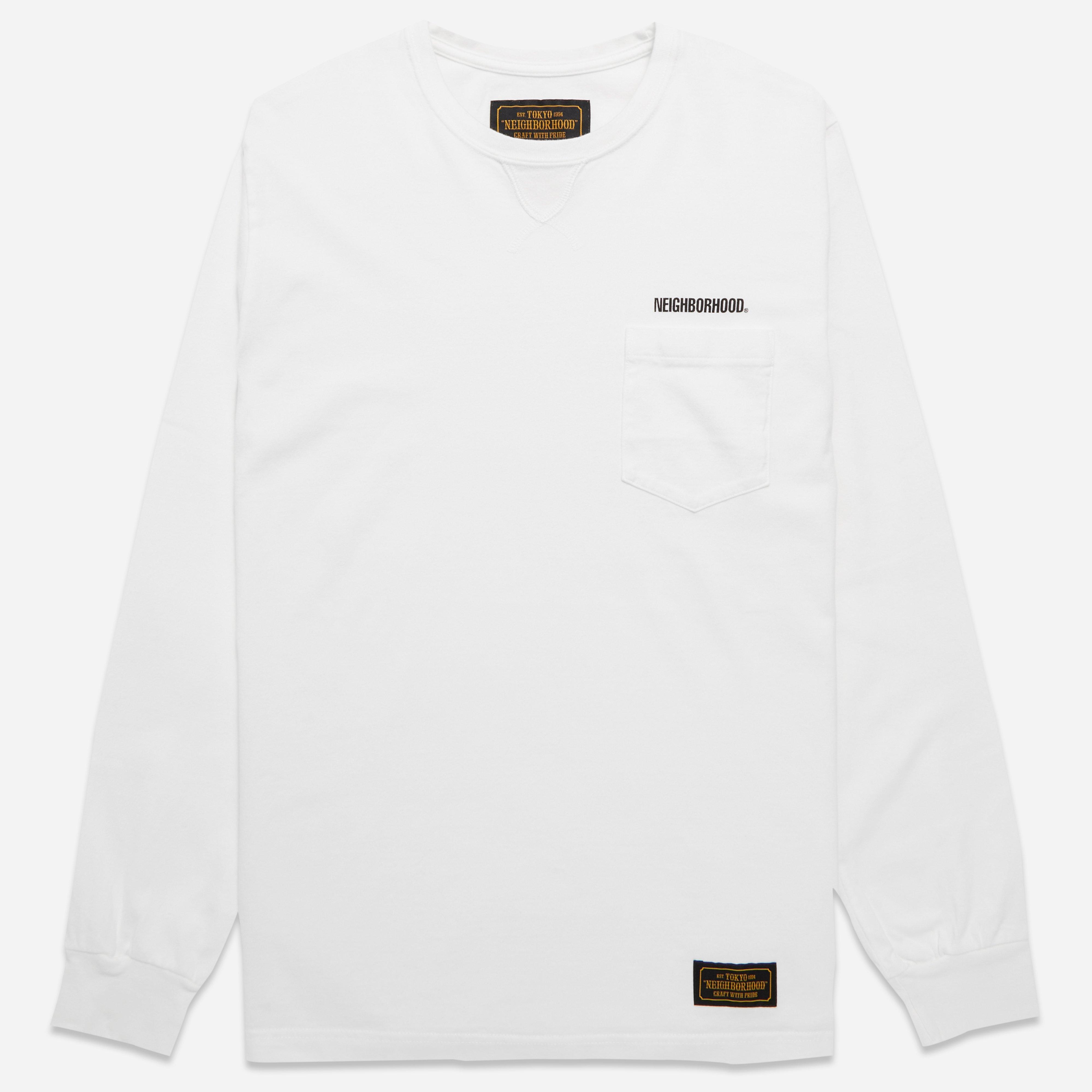 Neighborhood Classic Long Sleeve Pocket T-shirt