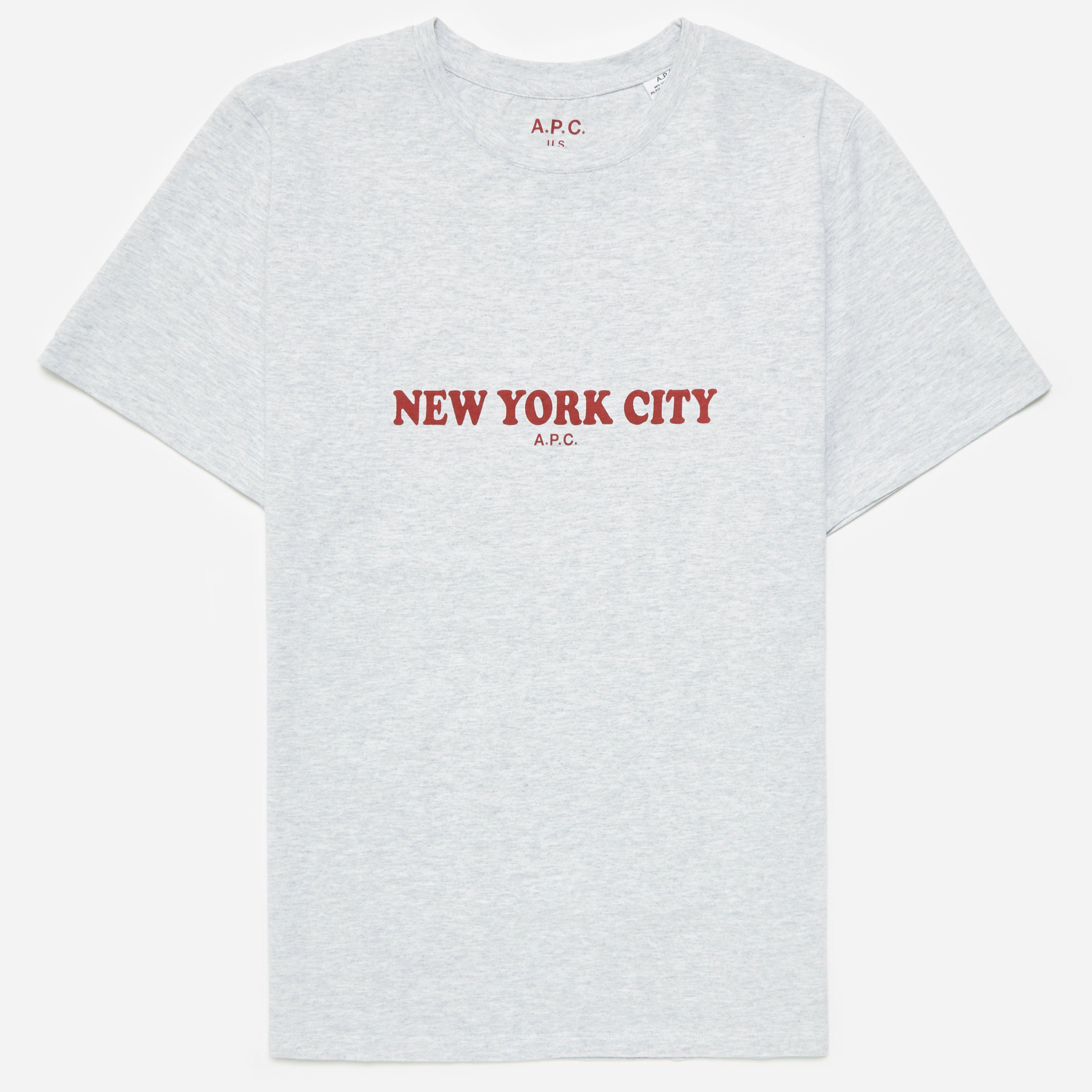 A.P.C. New York T-shirt