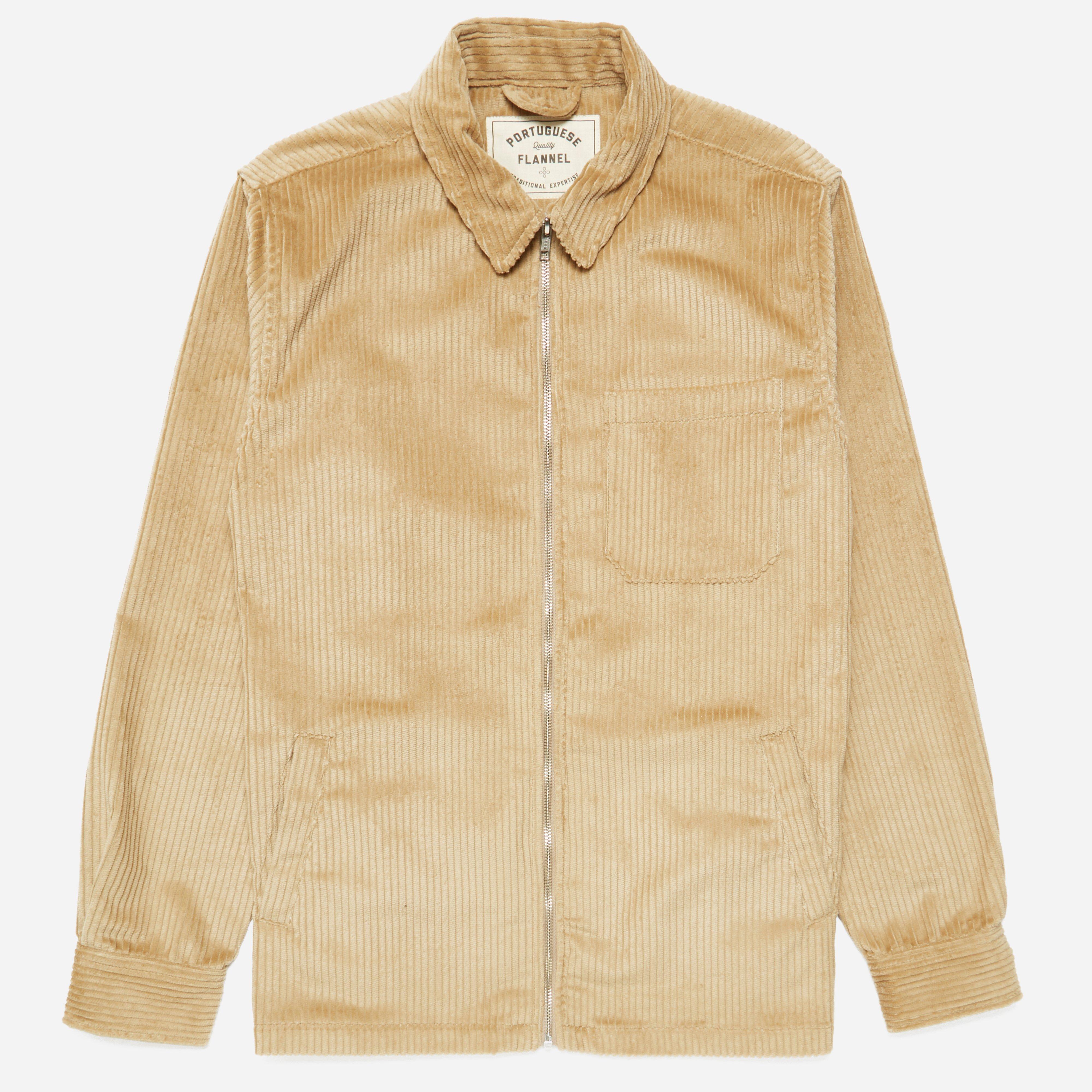 Portuguese Flannel Fecho Courduroy Jacket