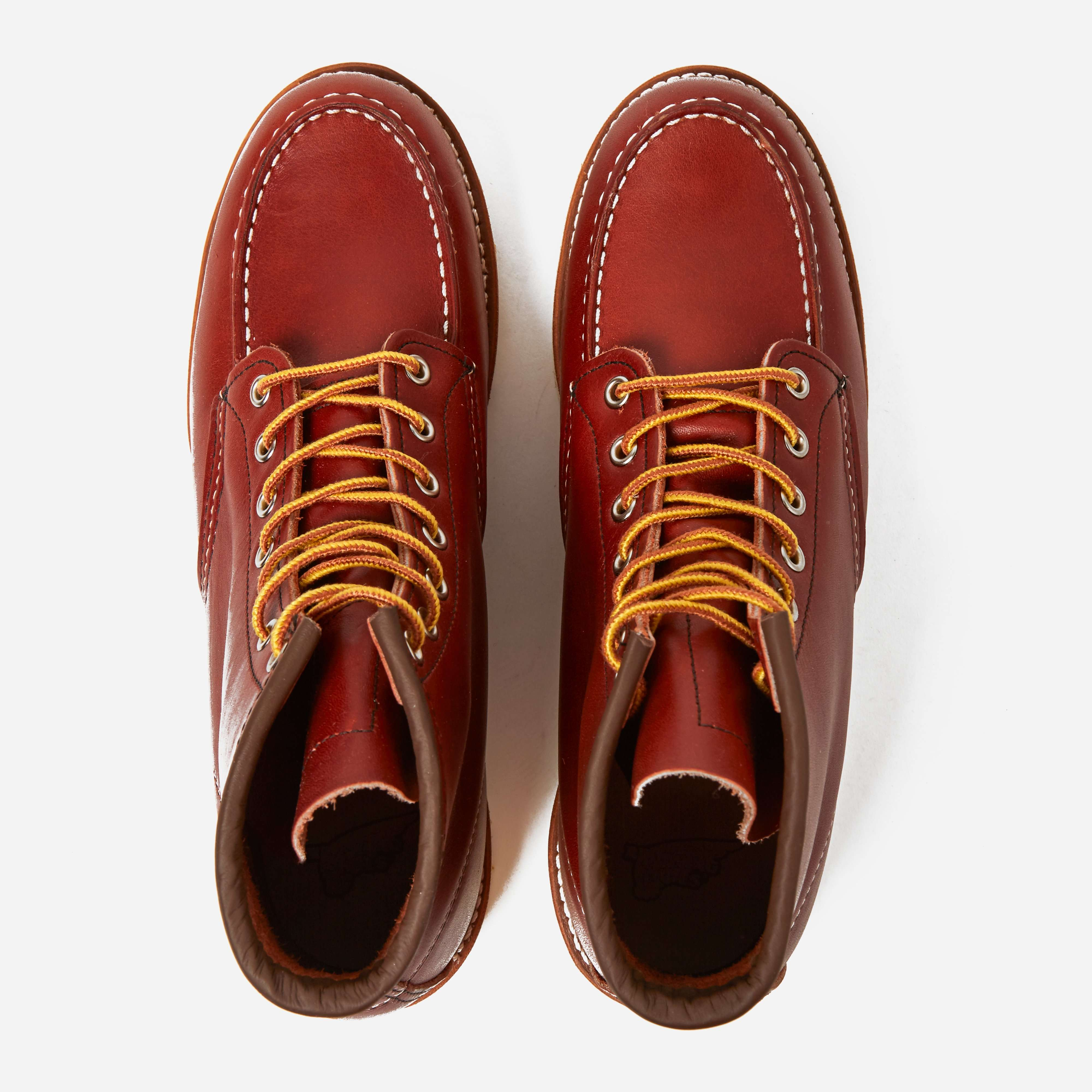 """Red Wing 08131 6"""" Moc Toe Boot"""