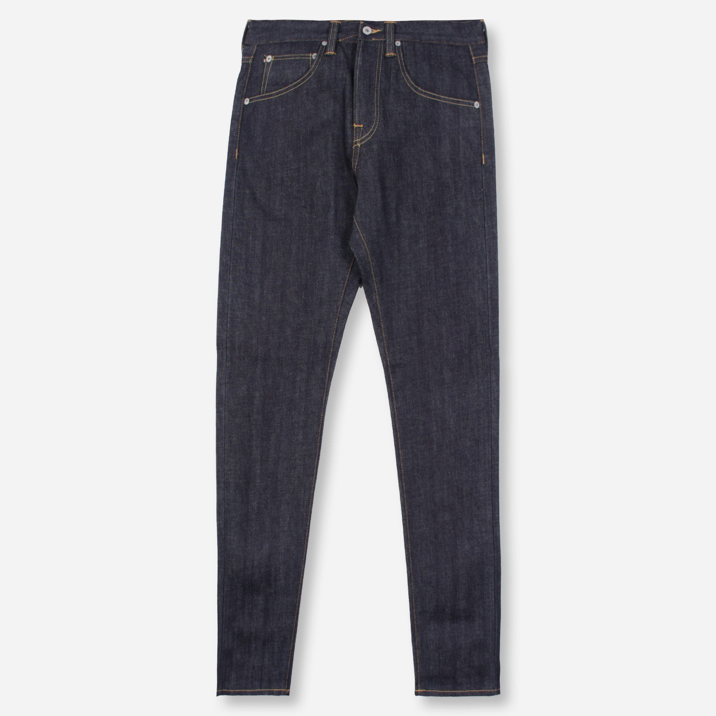 Edwin ED-55 Regular Tapered Red Listed Selvage Denim Unwashed