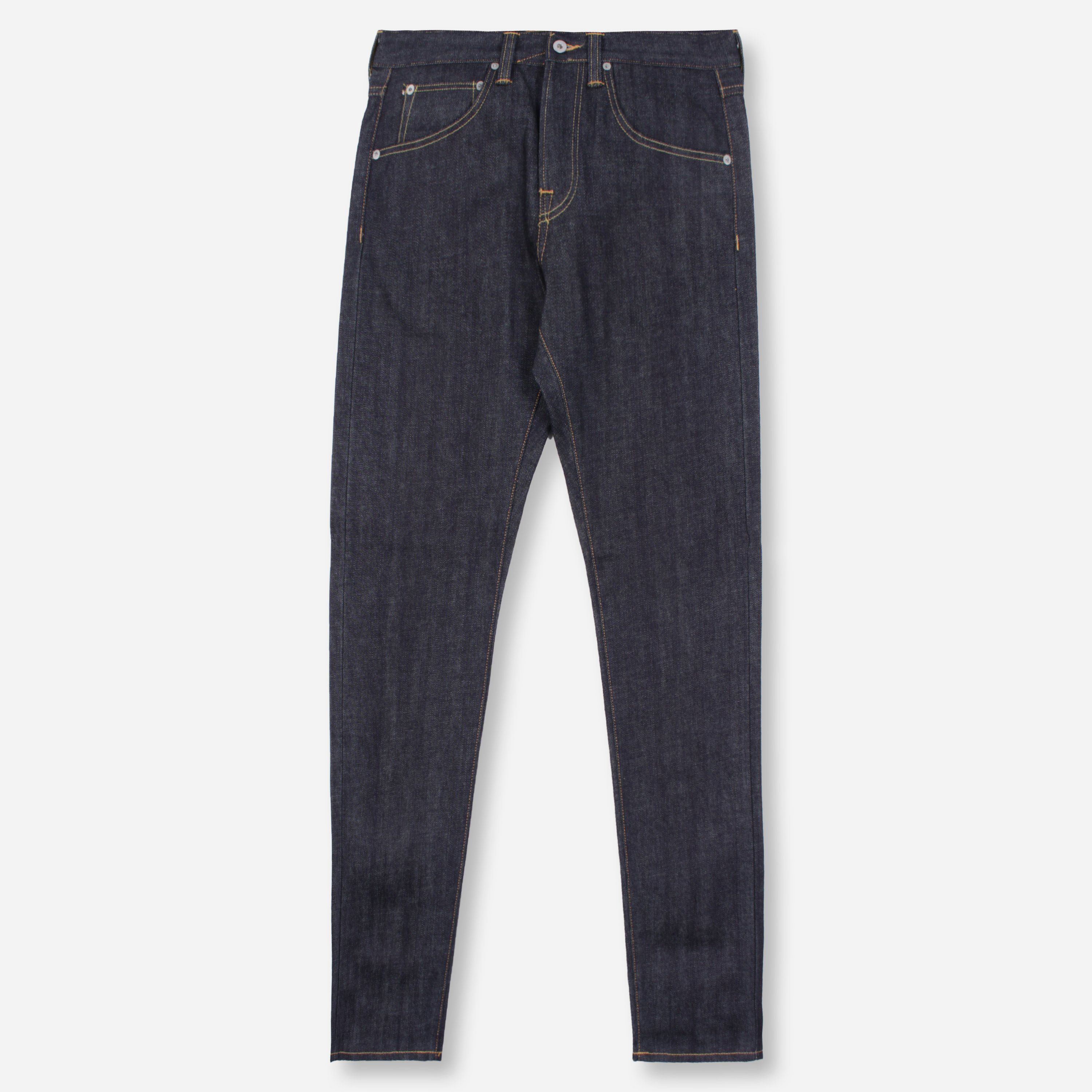Edwin ED55 Regular Tapered Red Listed Selvage Denim Unwashed
