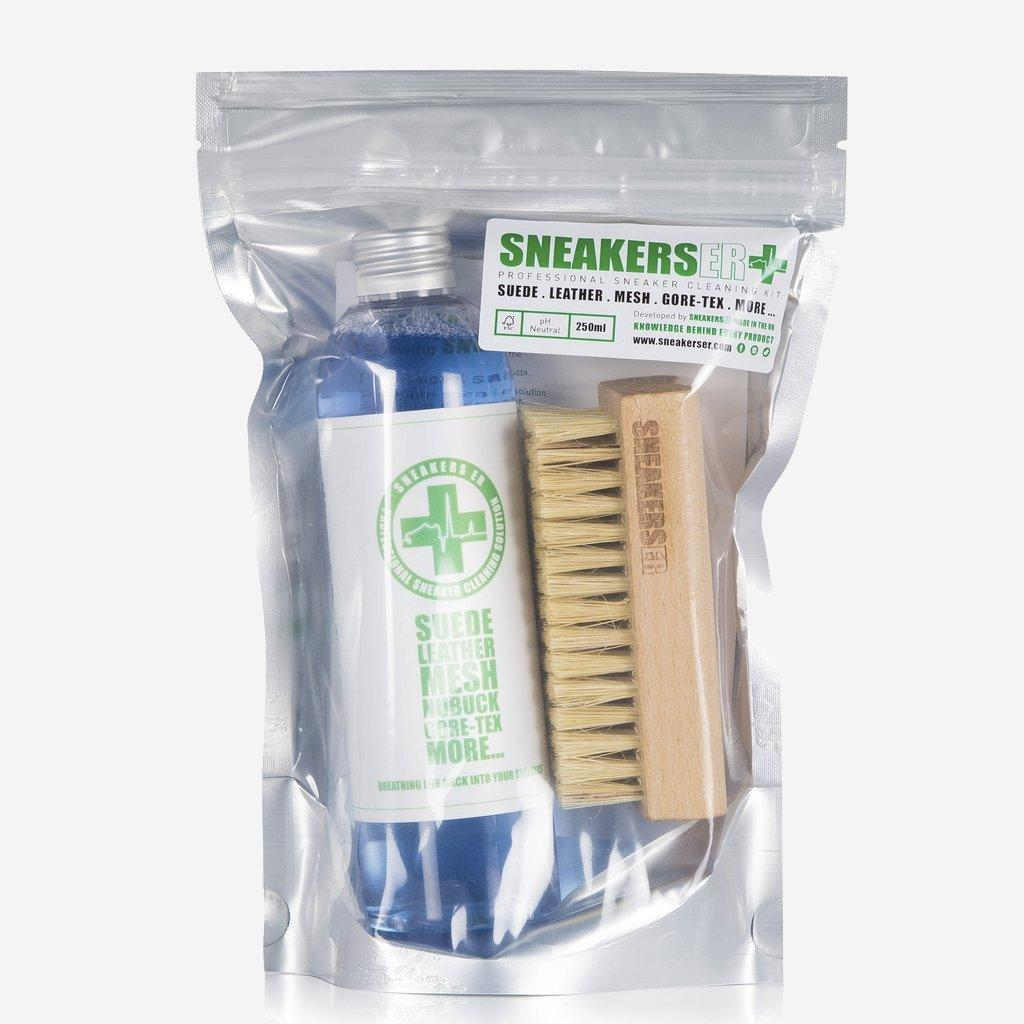 Sneakers ER Cleaning Solution & Brush Kit