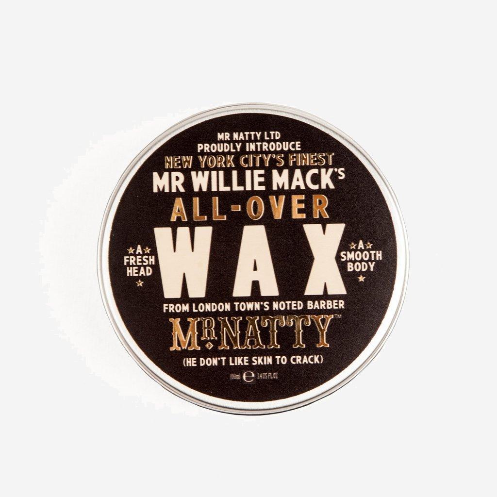 Mr Natty Willie Mack's All over Wax